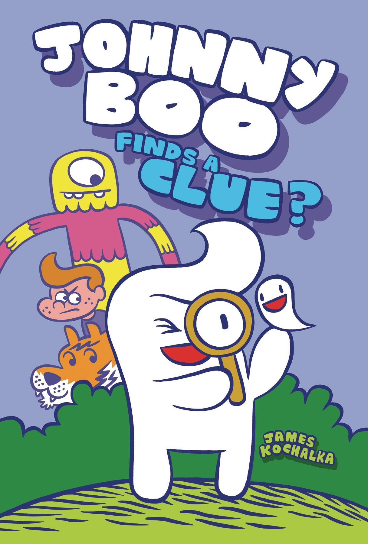 JOHNNY BOO HC VOL 11 JOHNNY BOO FINDS A CLUE