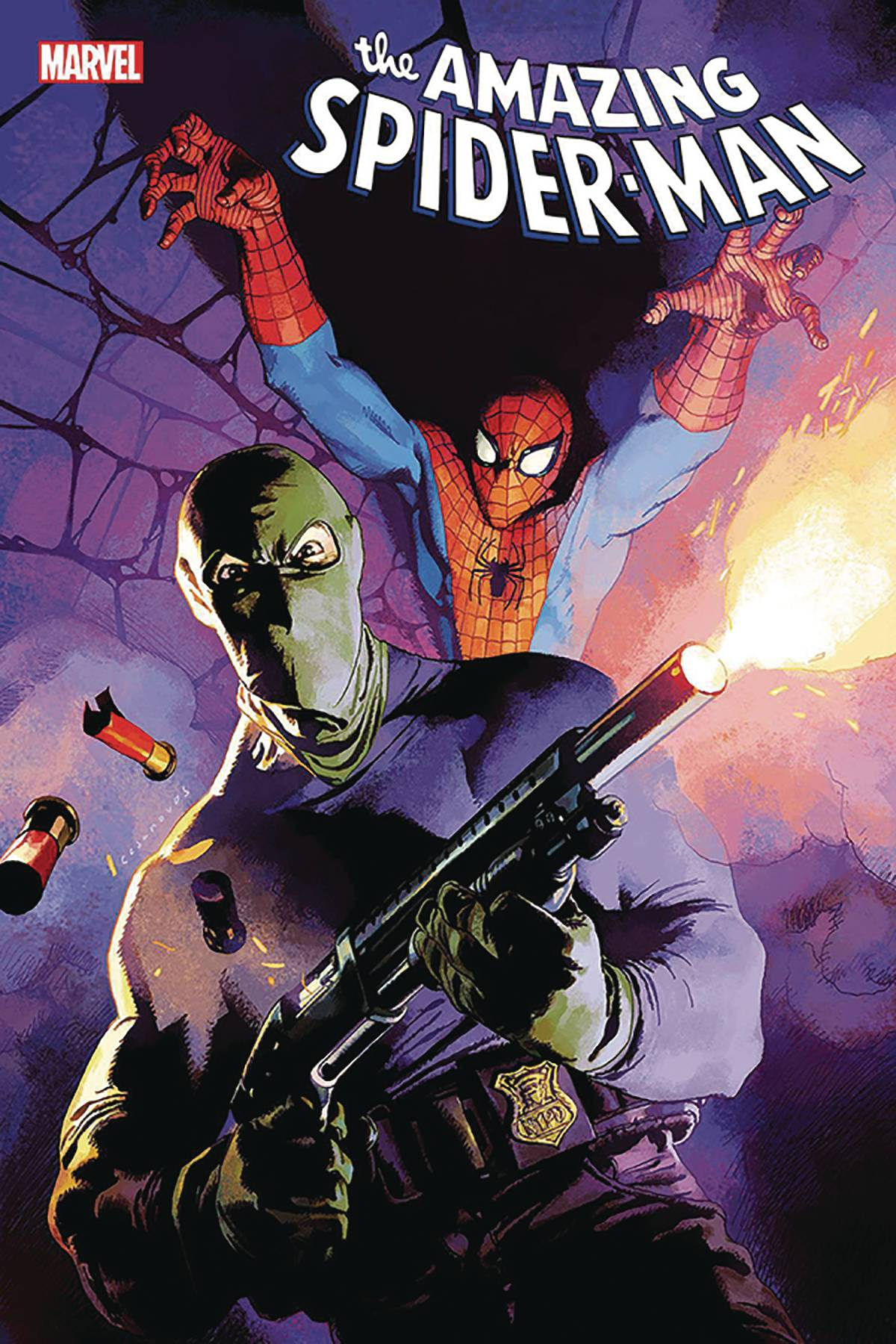 DF AMAZING SPIDERMAN #45 SPENCER SGN