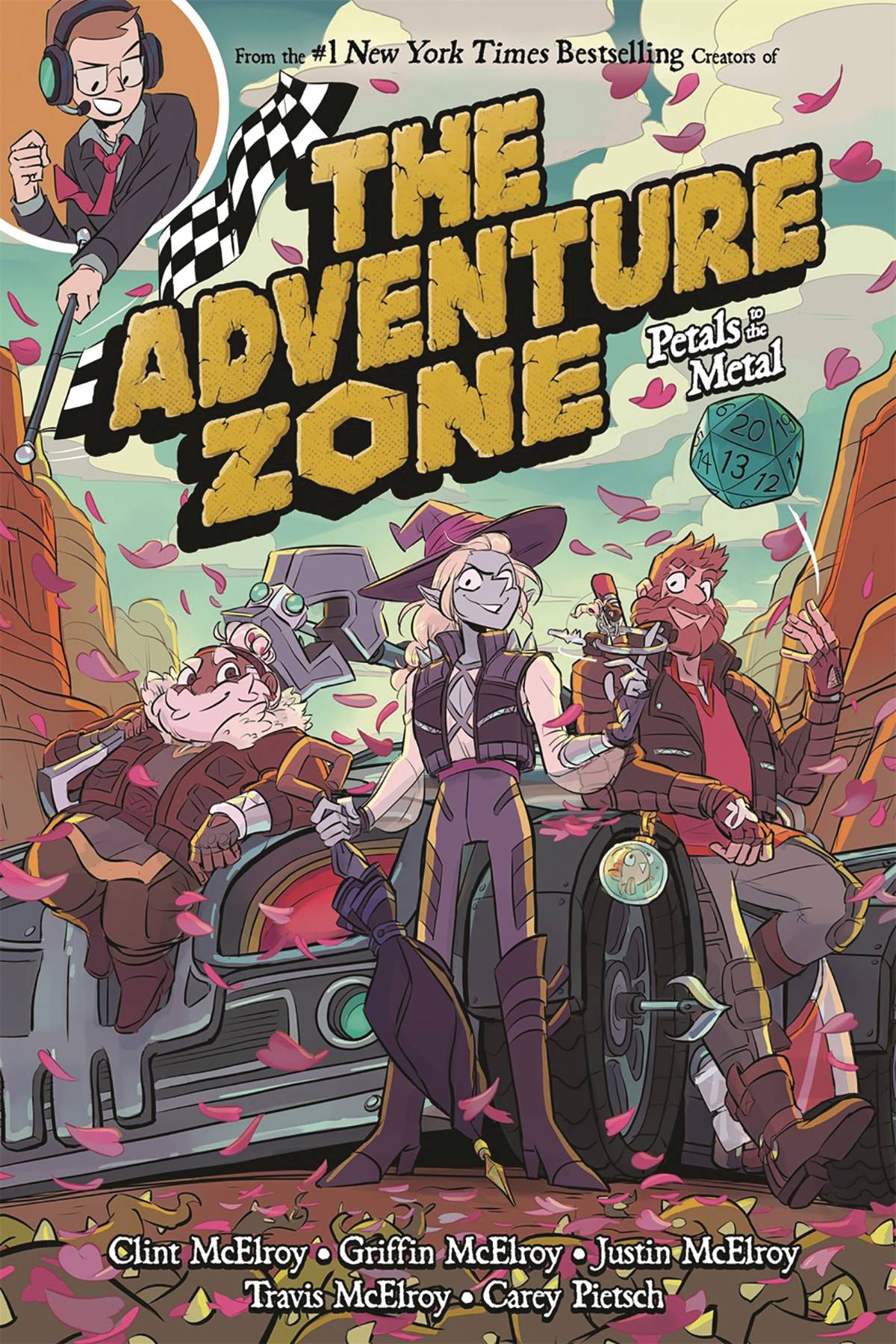 ADVENTURE ZONE GN VOL 03 PETALS TO METAL