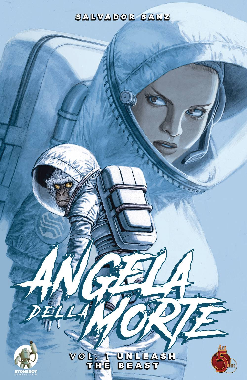 ANGELA DELLA MORTE TP VOL 01 UNLEASH THE BEAST (RES)