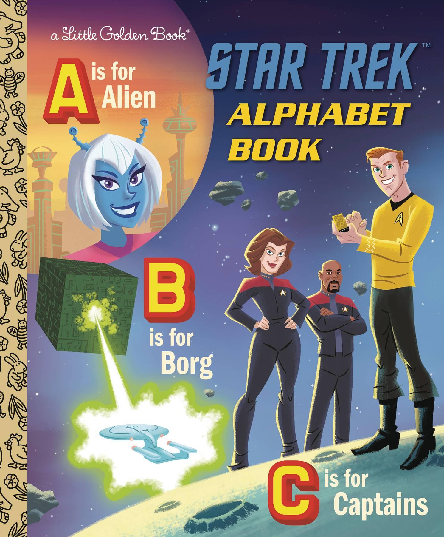 STAR TREK ALPHABET BOOK LITTLE GOLDEN BOOK