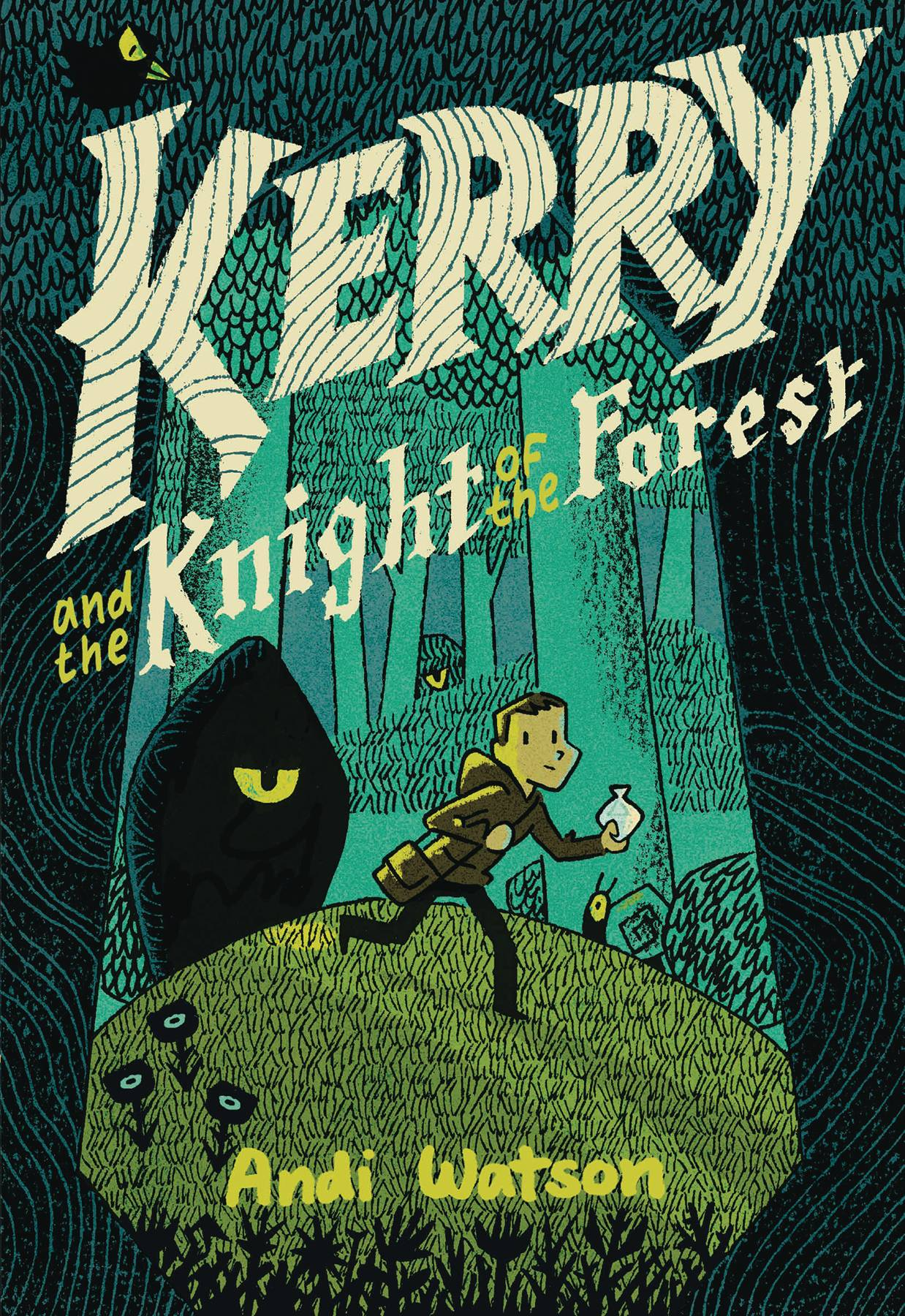 KERRY AND KNIGHT OF THE FOREST HC GN