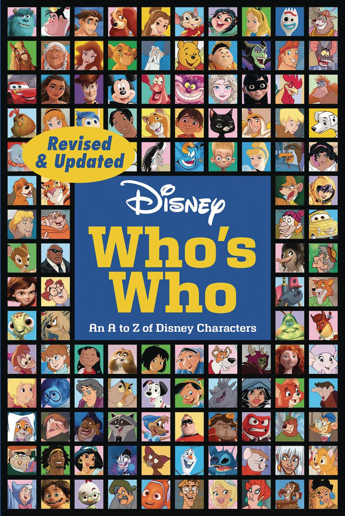 DISNEY WHOS WHO REVISED UPDATED SC