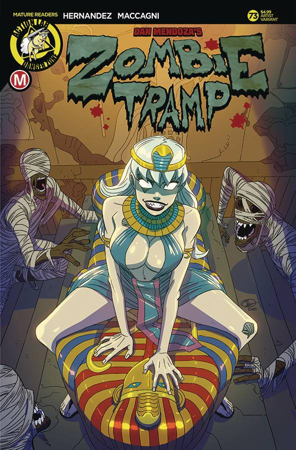 ZOMBIE TRAMP ONGOING #73 CVR E YOUNG (MR)