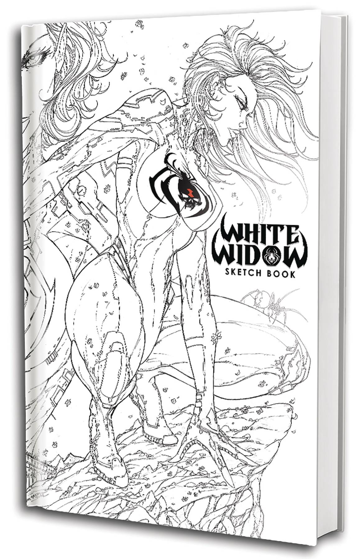 WHITE WIDOW SKETCH BOOK VOL 01