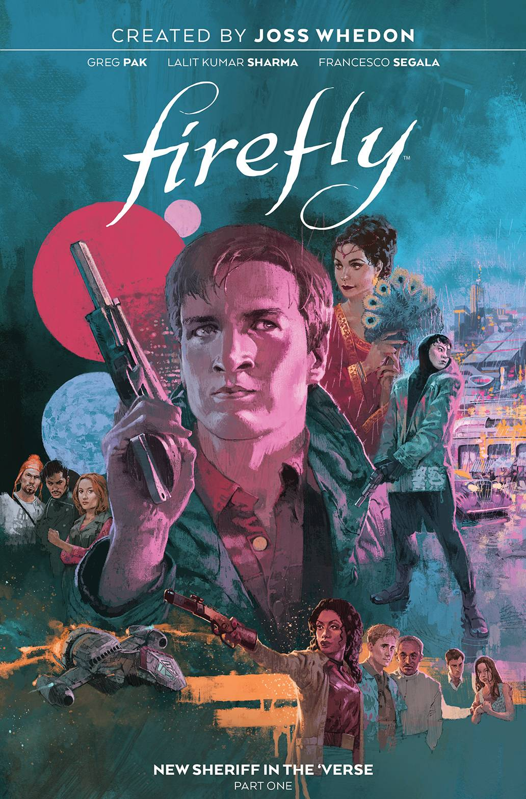 FIREFLY NEW SHERIFF IN VERSE HC VOL 01 (O/A)