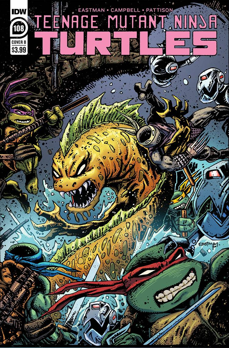 TMNT ONGOING #108 CVR B EASTMAN