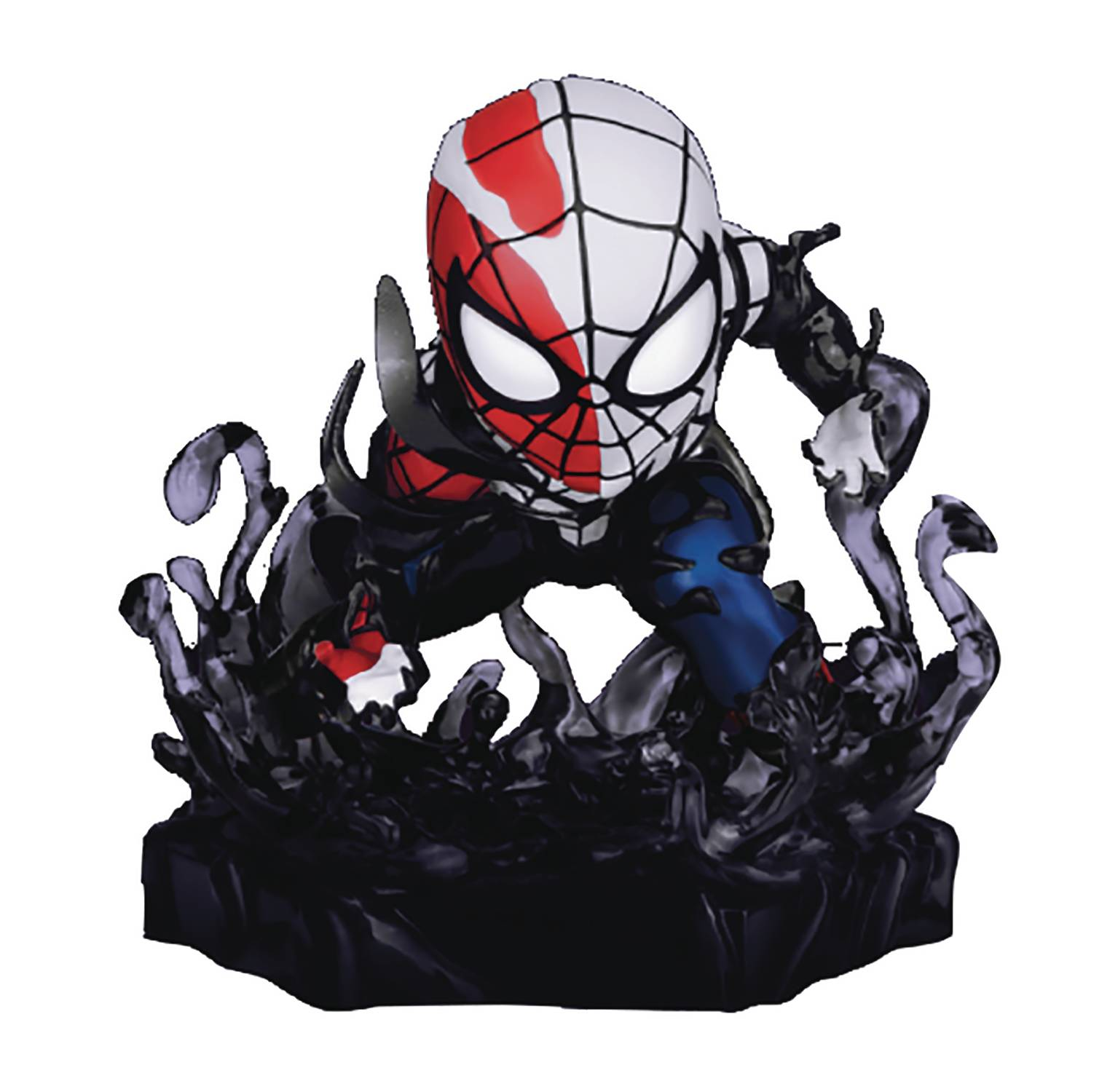 MARVEL MAXIMUM VENOM MEA-018 VENOMIZED SPIDER-MAN FIG