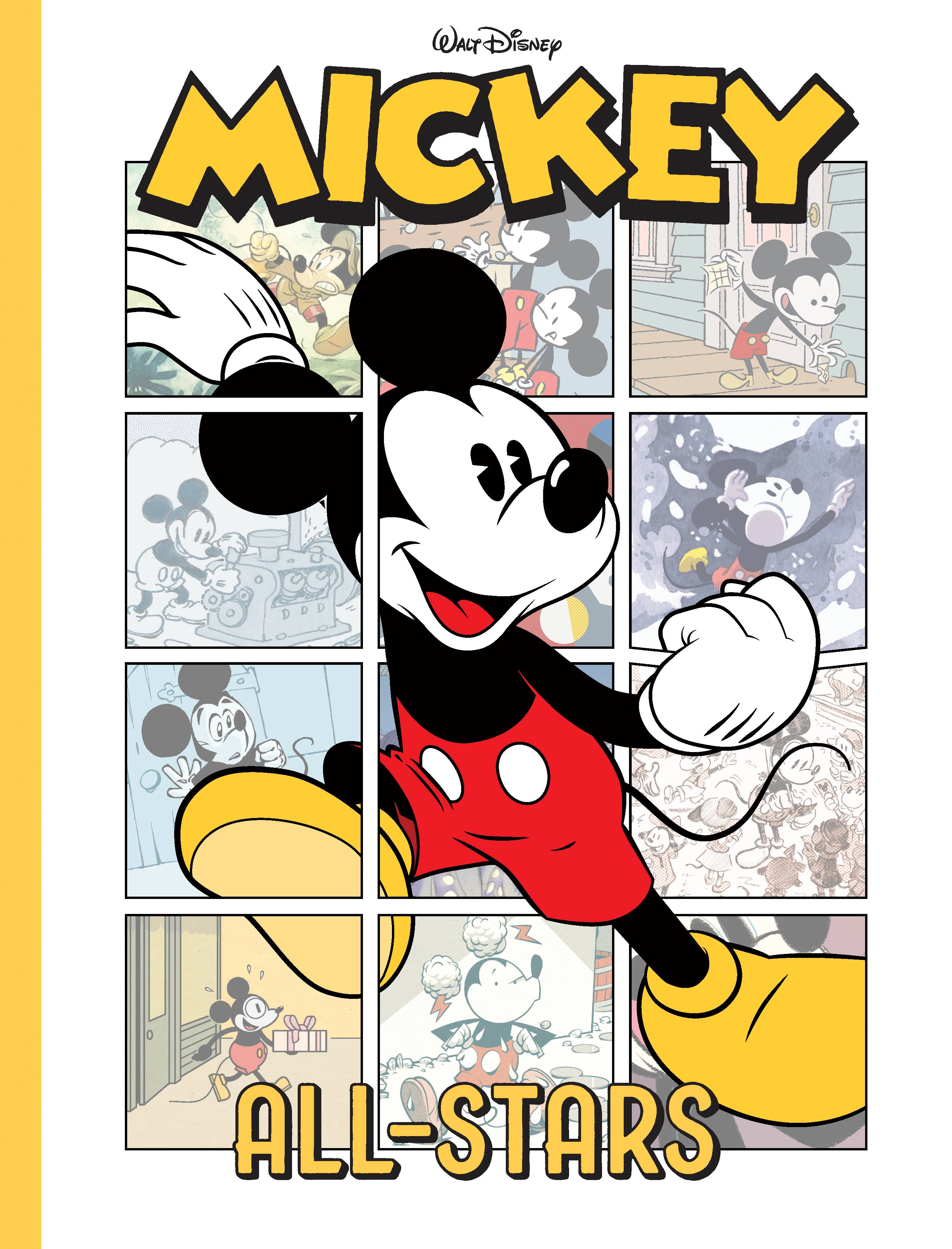 DISNEY MICKEY MOUSE HC ALL STARS