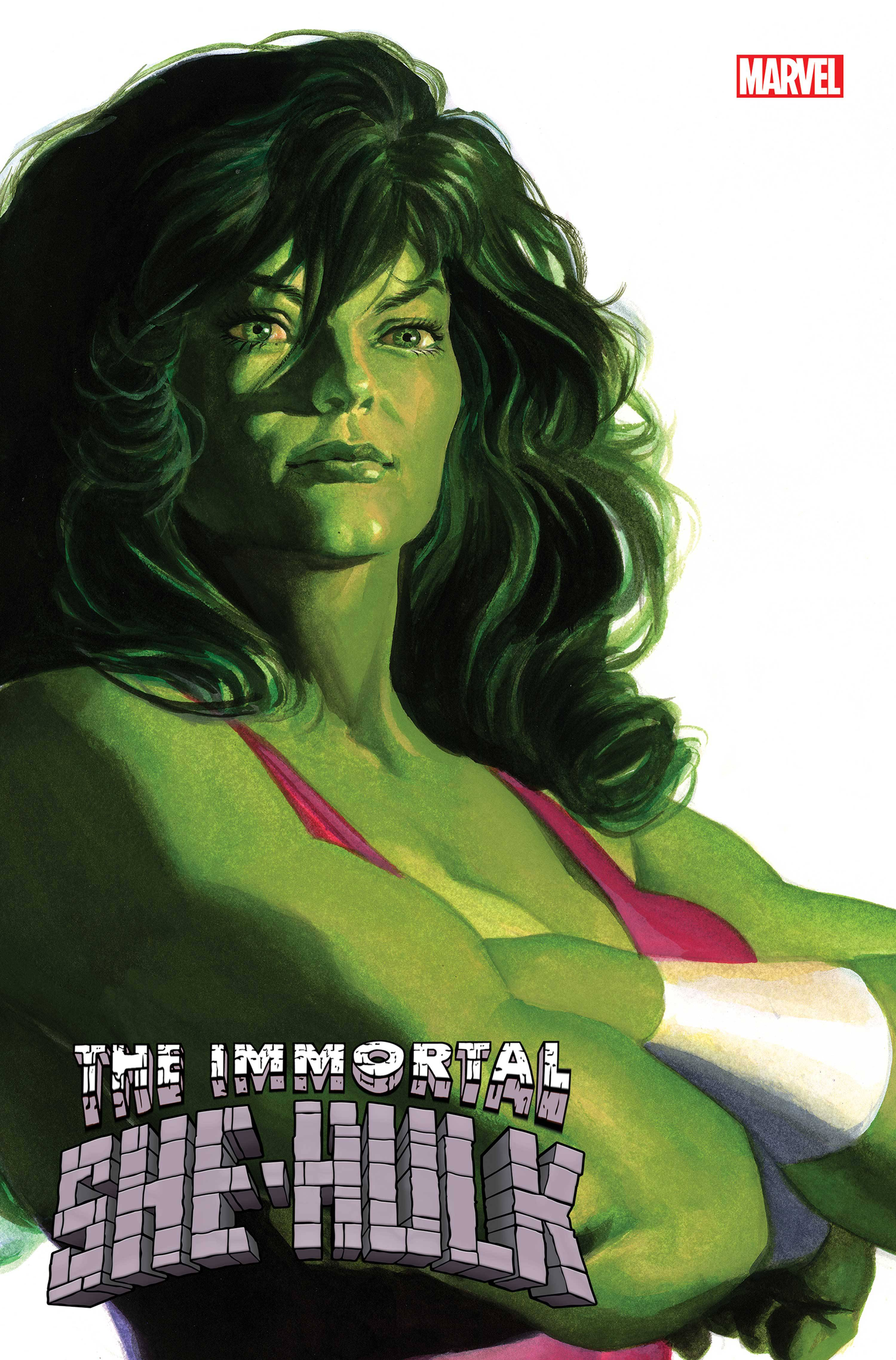 IMMORTAL SHE-HULK #1 ALEX ROSS SHE-HULK TIMELESS VAR