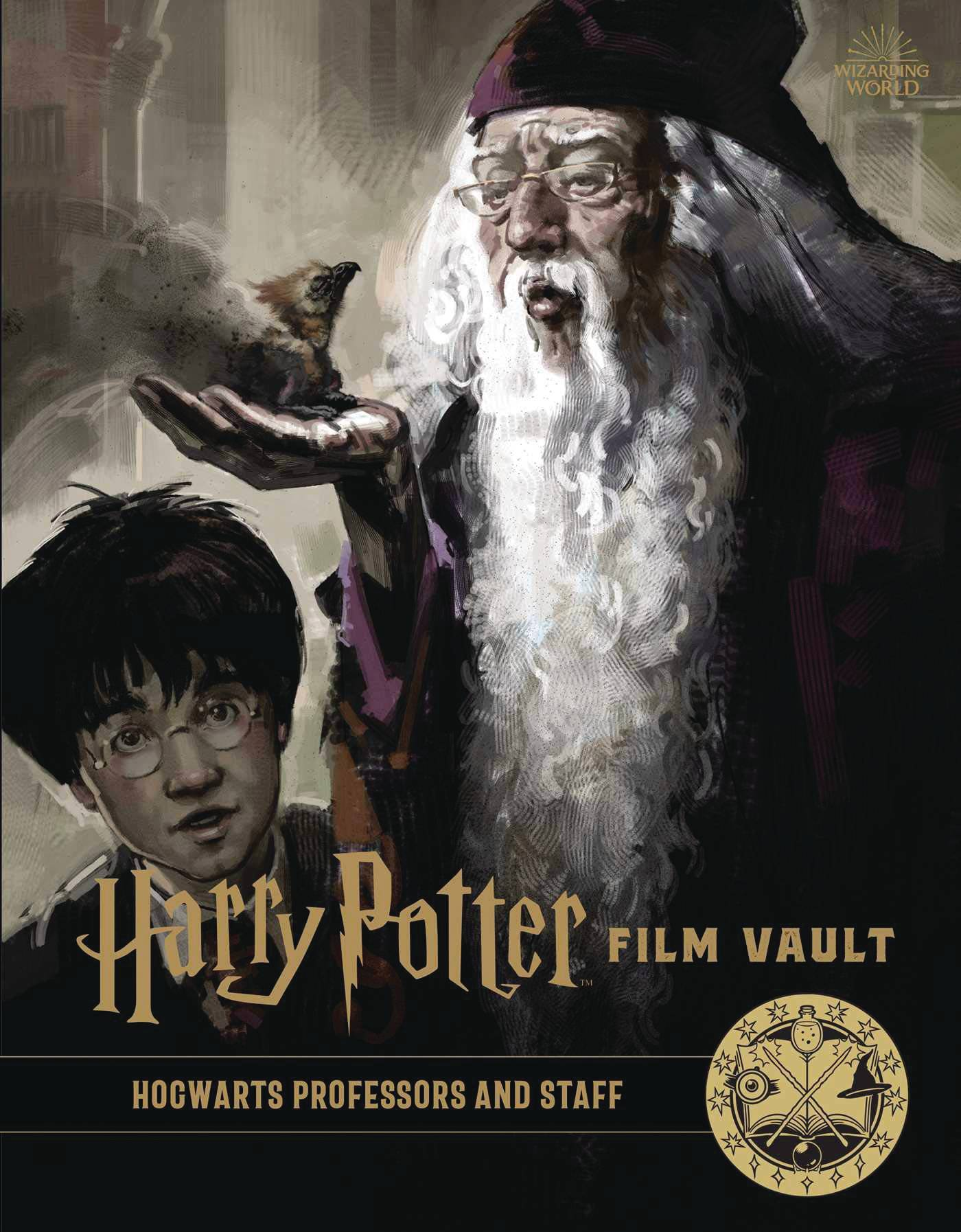 HARRY POTTER FILM VAULT HC VOL 11 HOGWARTS PROFESSORS & STAF