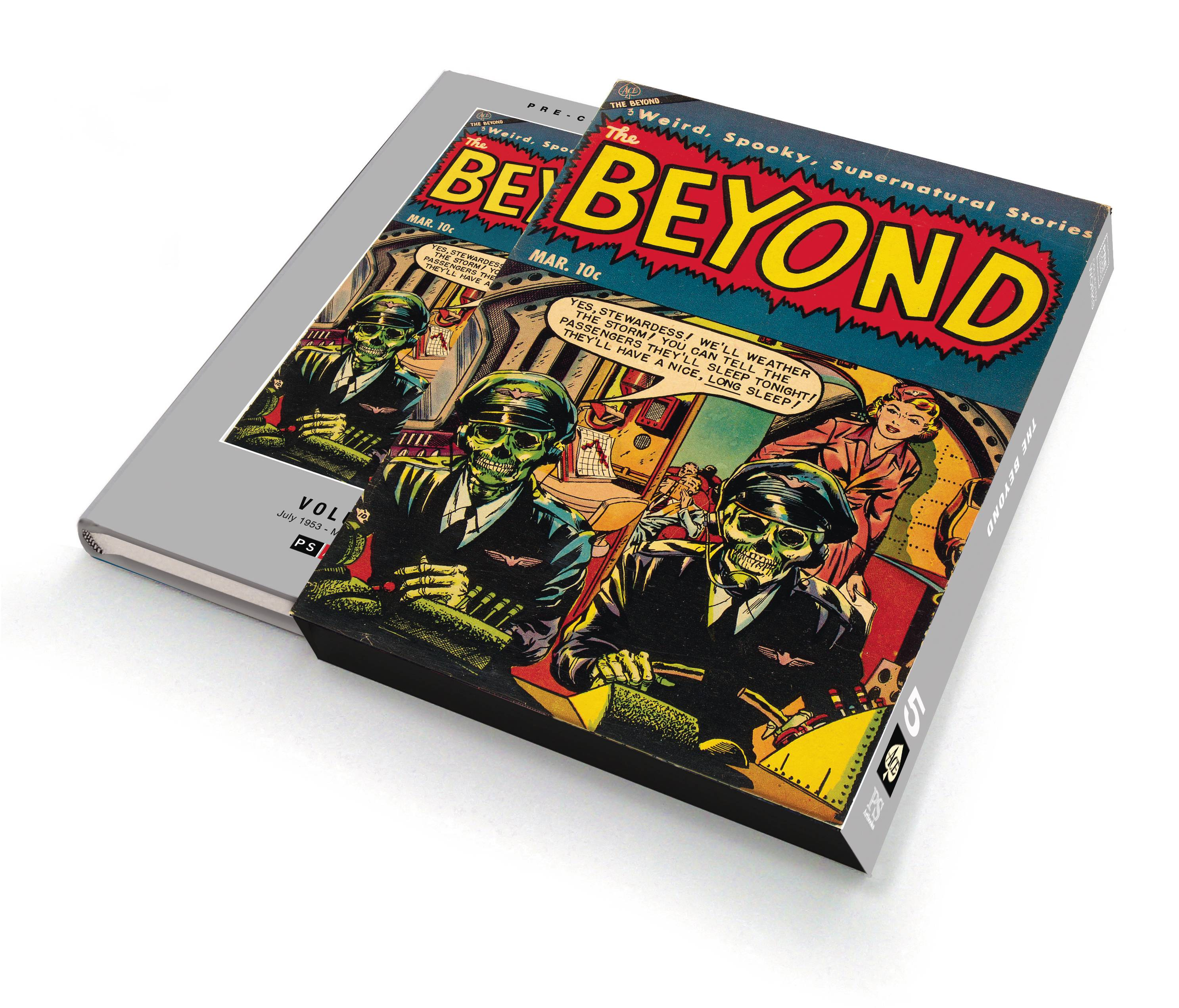 PRE CODE CLASSICS THE BEYOND SLIPCASE ED HC VOL 05