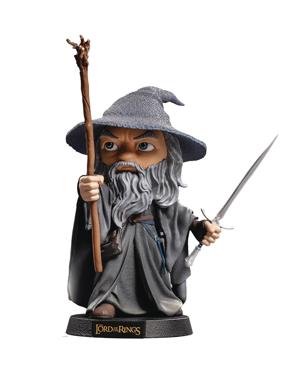 MINICO HEROES LORD OF THE RINGS GANDALF VINYL STATUE
