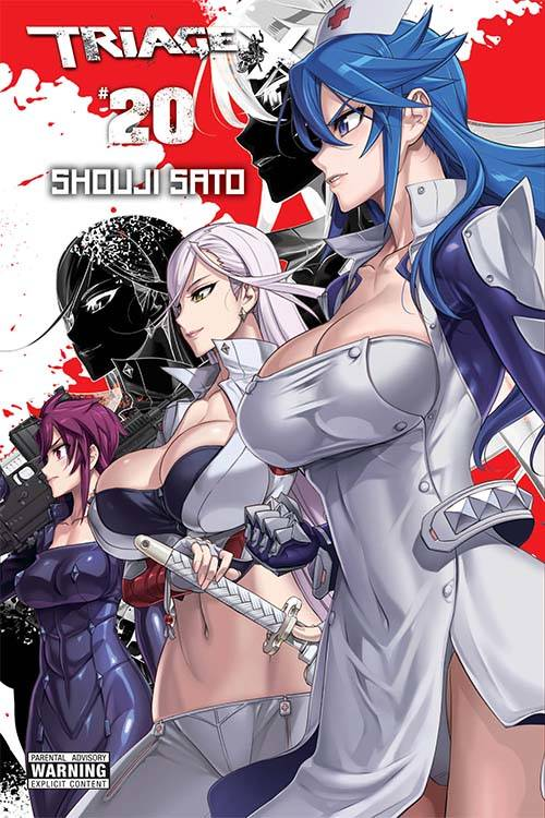 TRIAGE X GN VOL 20 (MR)