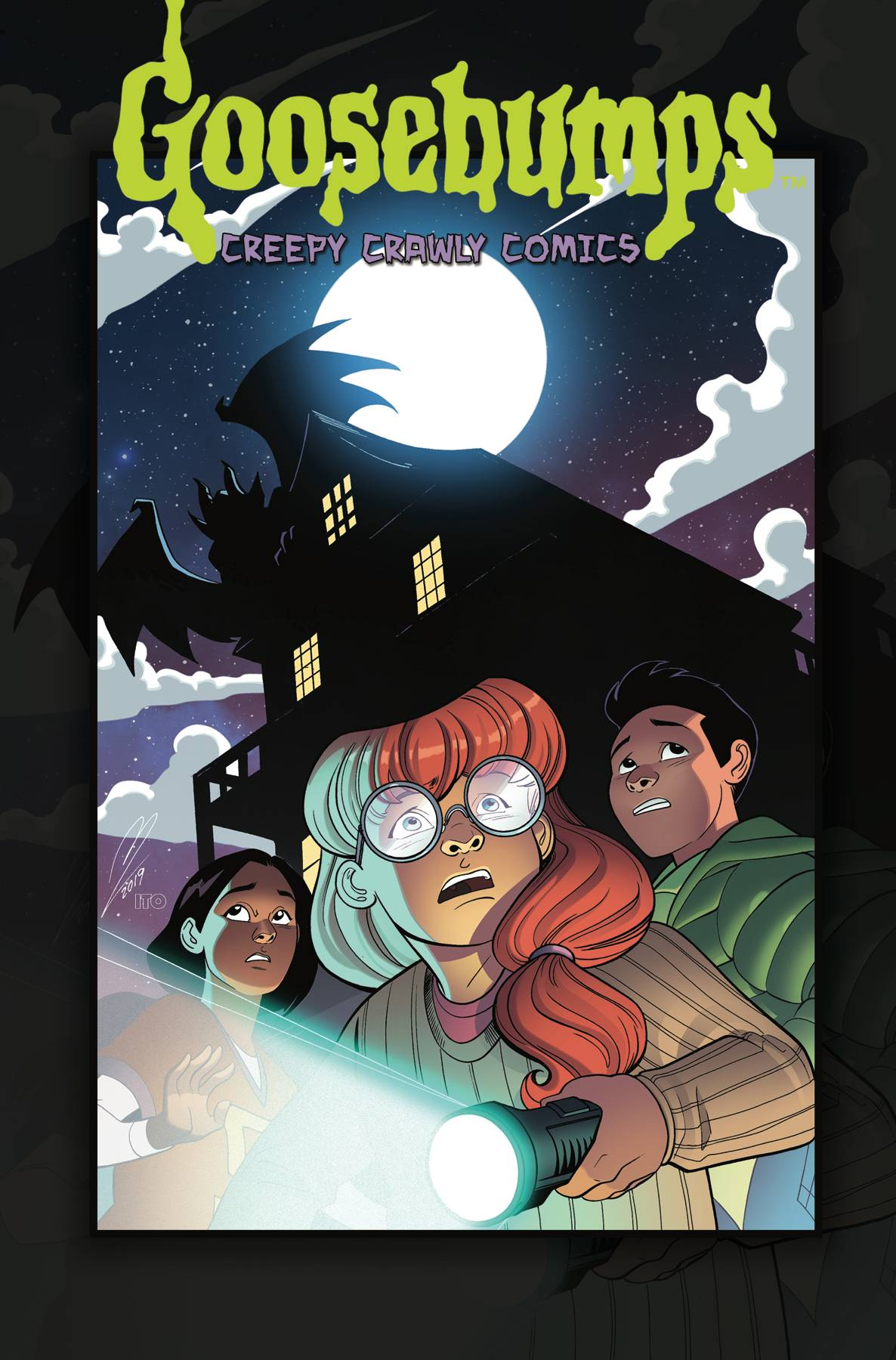 GOOSEBUMPS CREEP CRAWLY COMICS TP