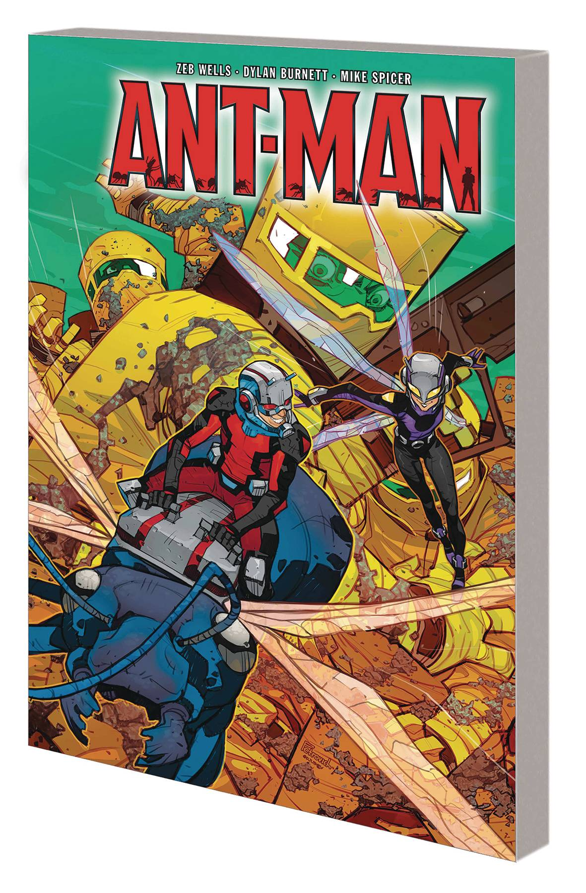 ANT-MAN WORLD HIVE TP
