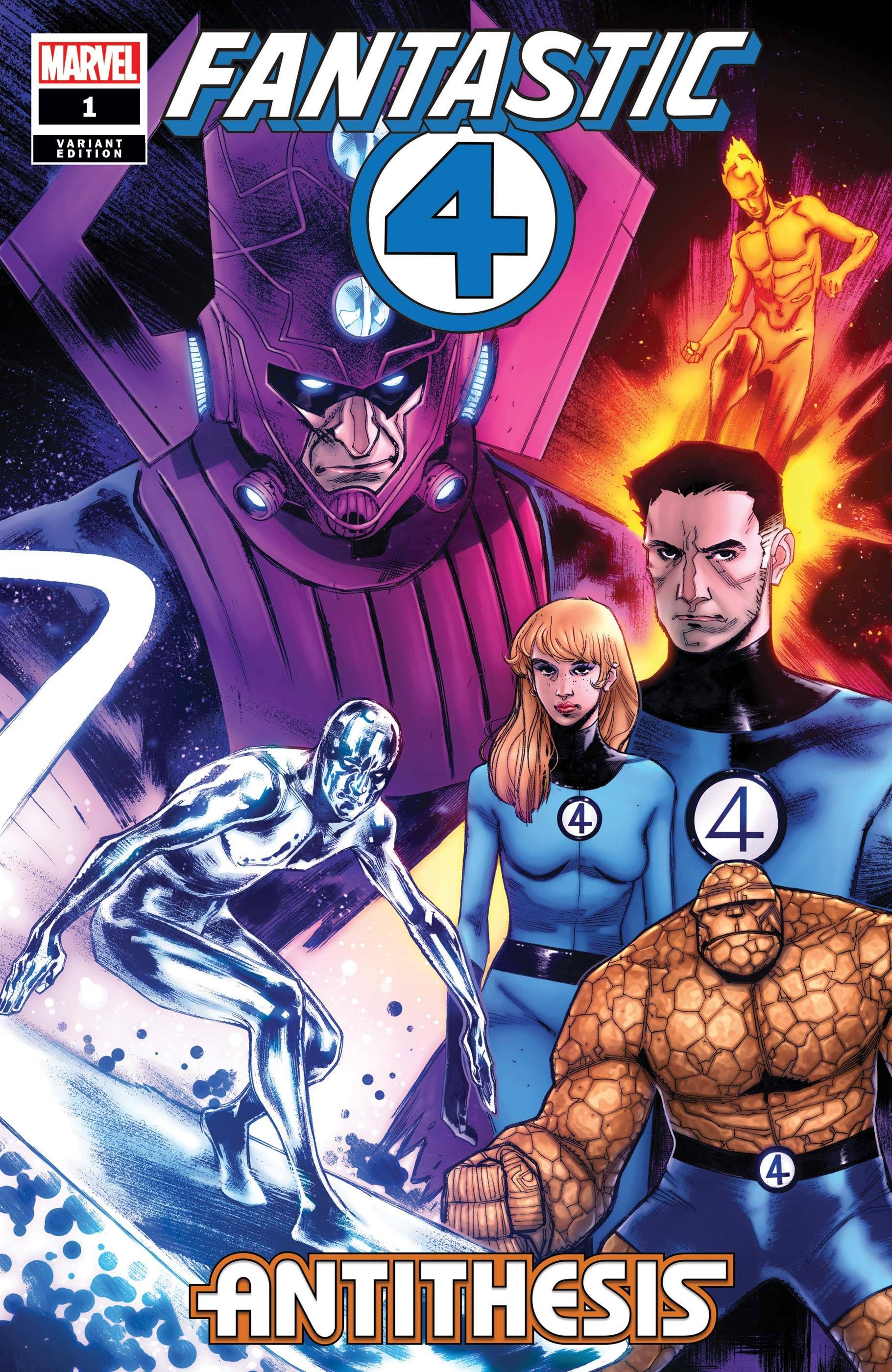 FANTASTIC FOUR ANTITHESIS #1 (OF 4) PICHELLI VAR