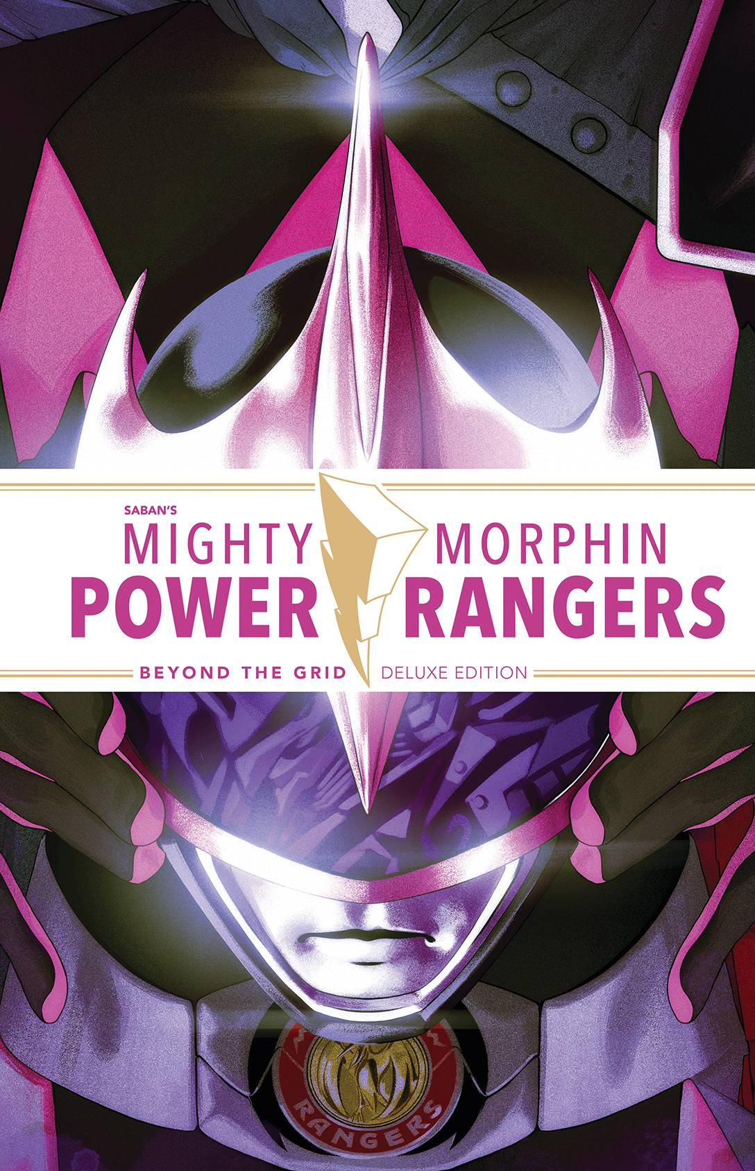 MIGHTY MORPHIN POWER RANGERS BEYOND THE GRID DLX ED HC