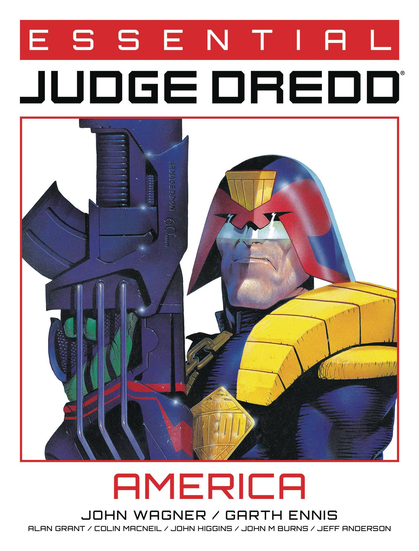 ESSENTIAL JUDGE DREDD AMERICA TP (MR)
