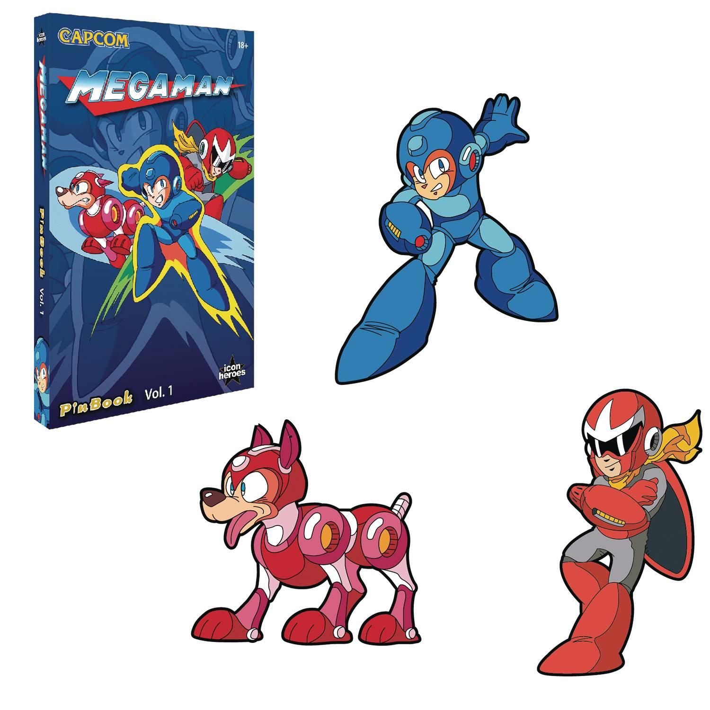 Mega Man Pins