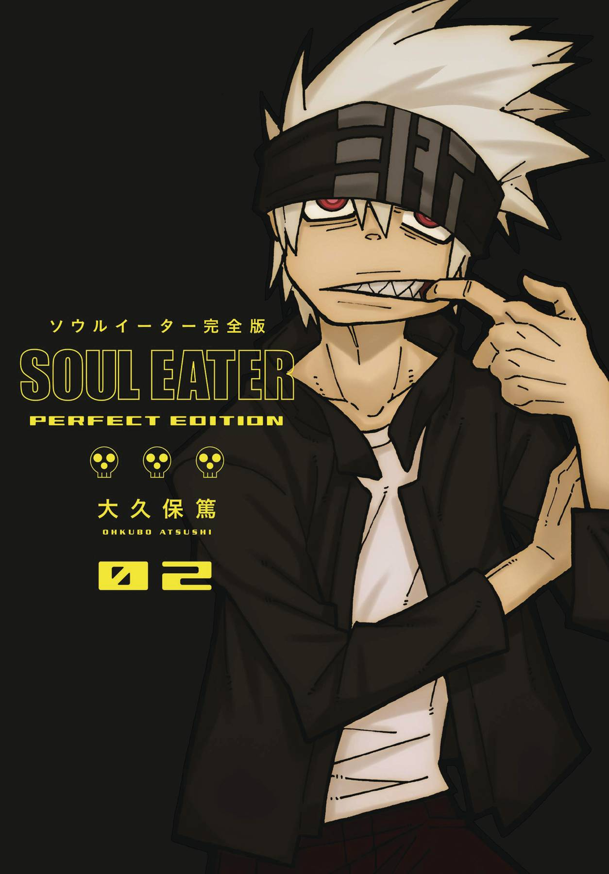 SOUL EATER PERFECT EDITION HC GN VOL 02