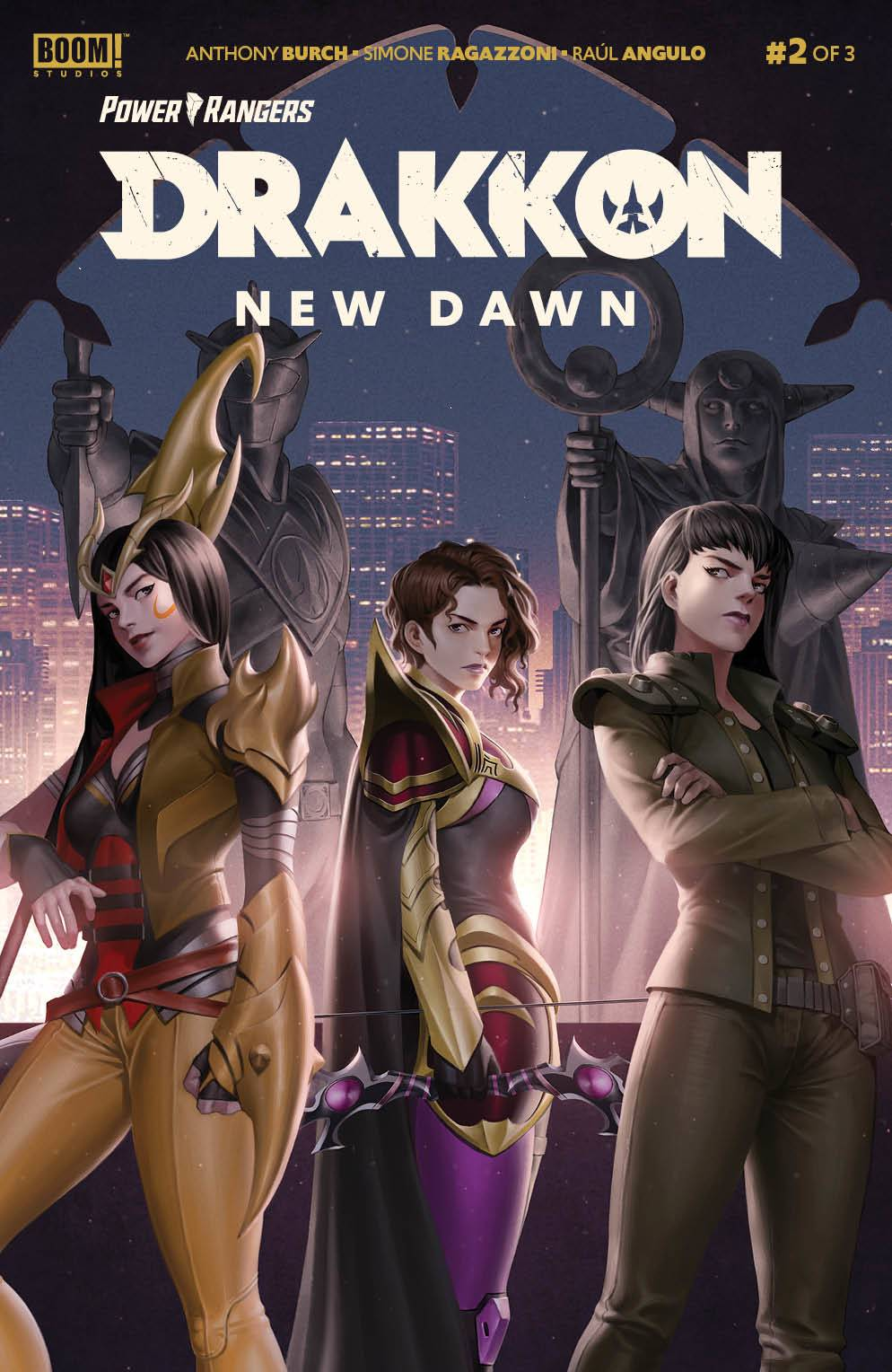 POWER RANGERS DRAKKON NEW DAWN #2 CVR A MAIN SECRET