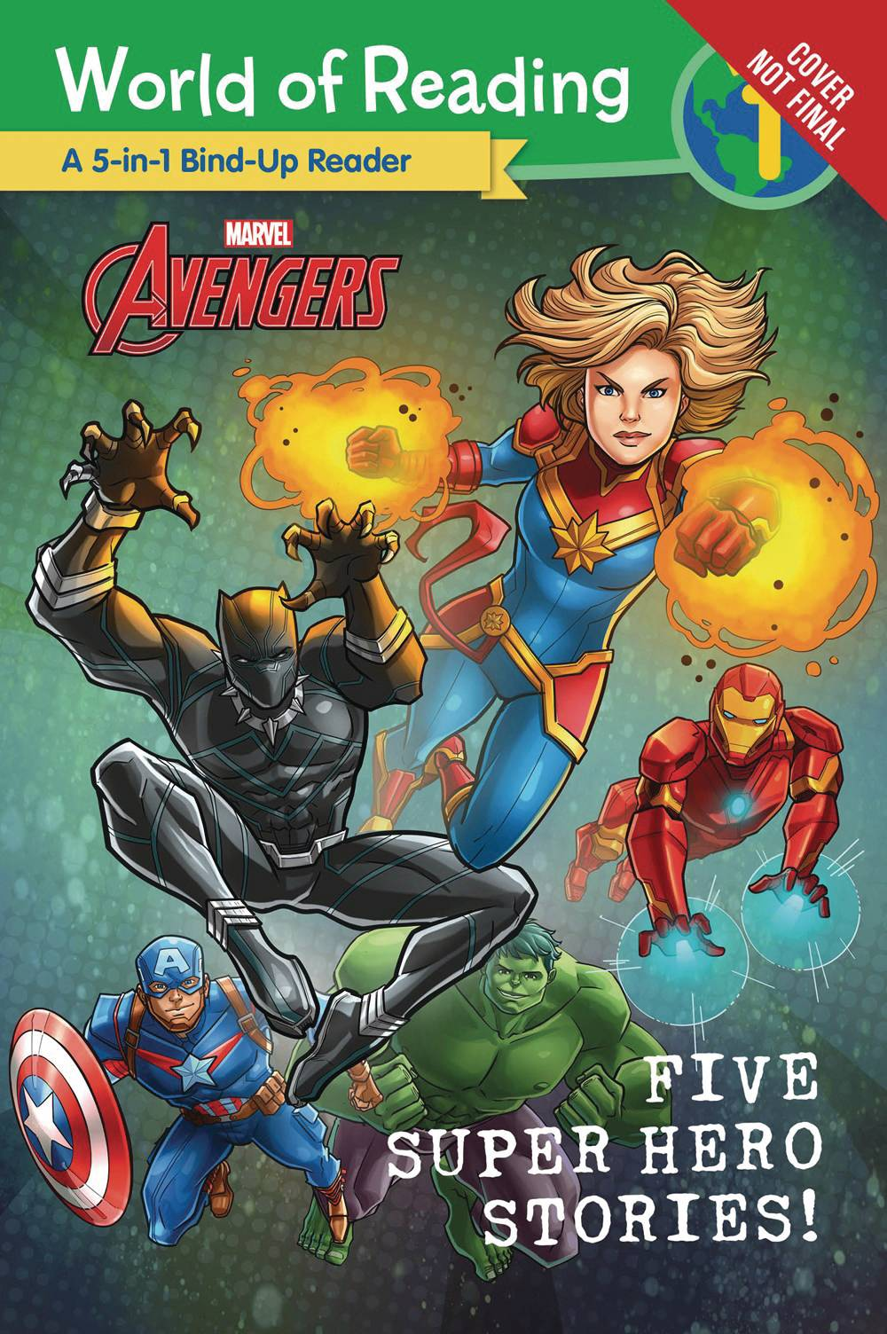 MARVEL FIVE SUPER HERO STORIES WORLD OF READING SC