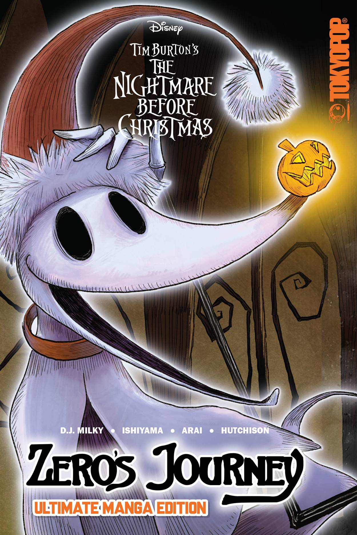 DISNEY MANGA NIGHTMARE XMAS ZEROS JOURNEY ULT ED TP