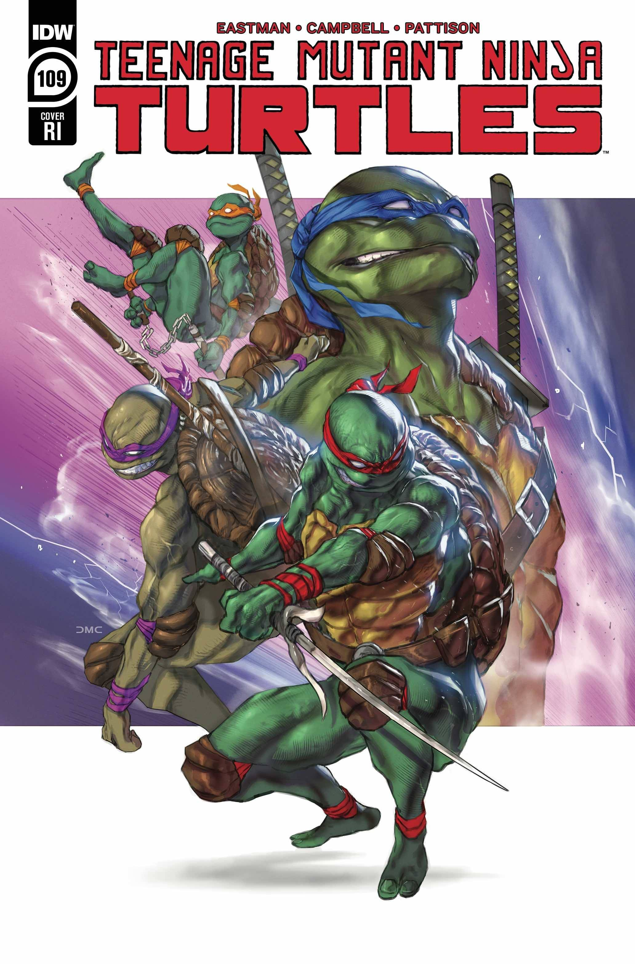 TMNT ONGOING #109 10 COPY INCV CHAVEZ
