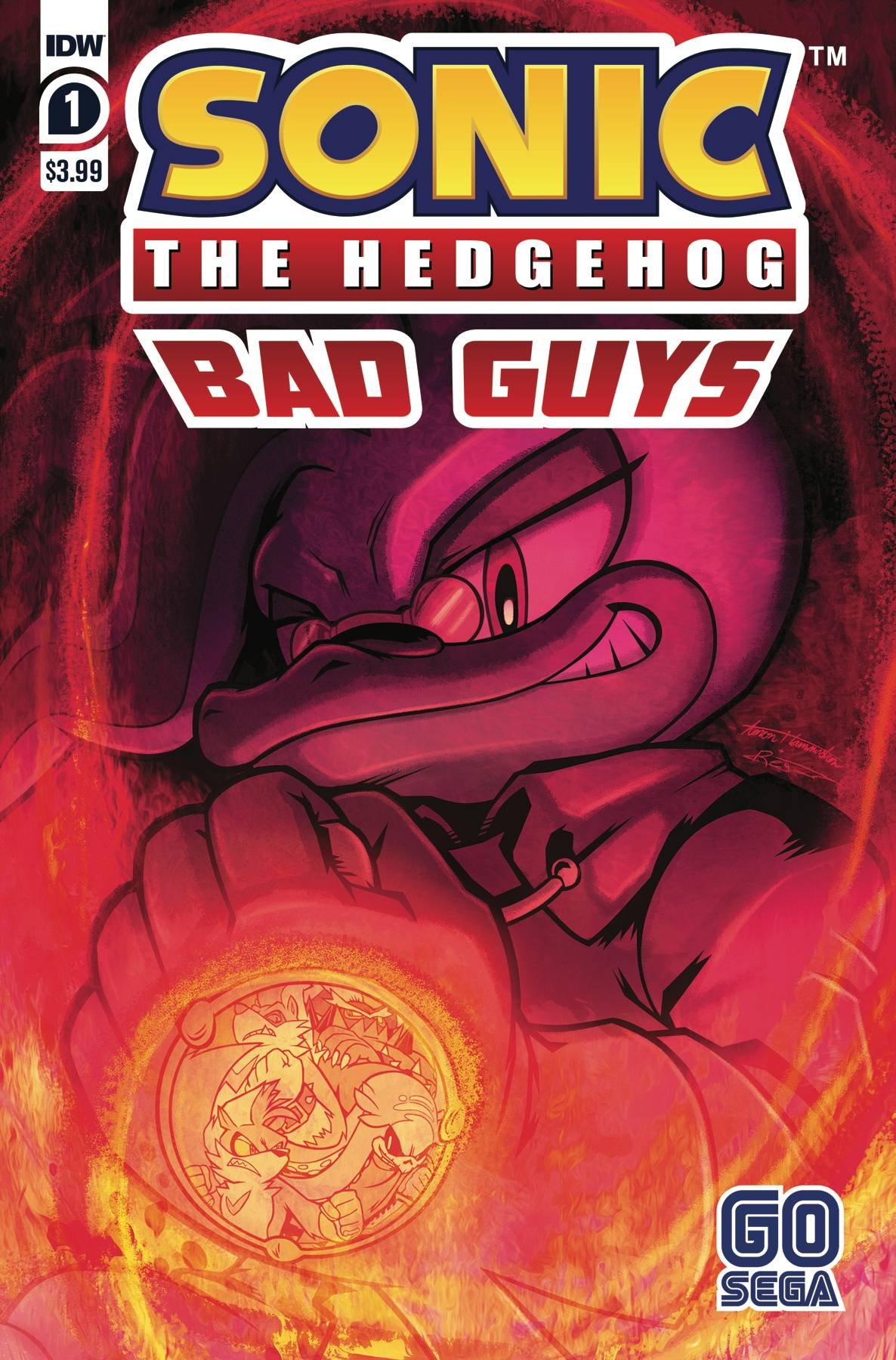 Jul200524 Sonic The Hedgehog Bad Guys 1 Of 4 Cvr A Hammerstrom Previews World