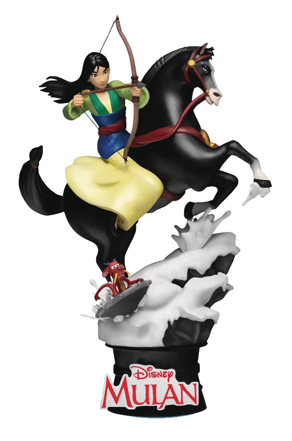 DISNEY CLASSIC MULAN DS-055 D-STAGE SERIES 6IN STATUE