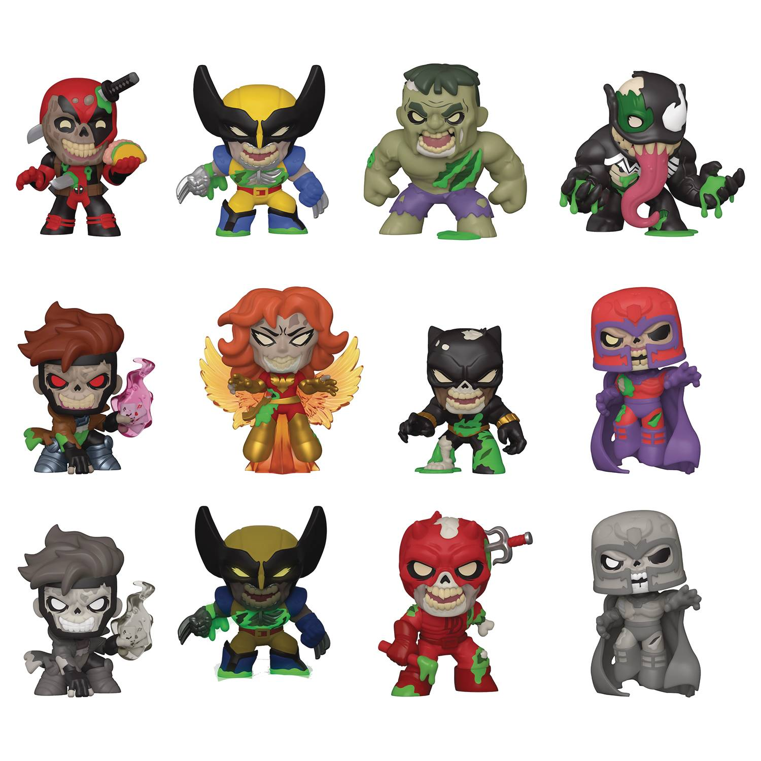 SPECIALTY SERIES MYSTERY MINIS MARVEL ZOMBIES 12PC BMB DISP