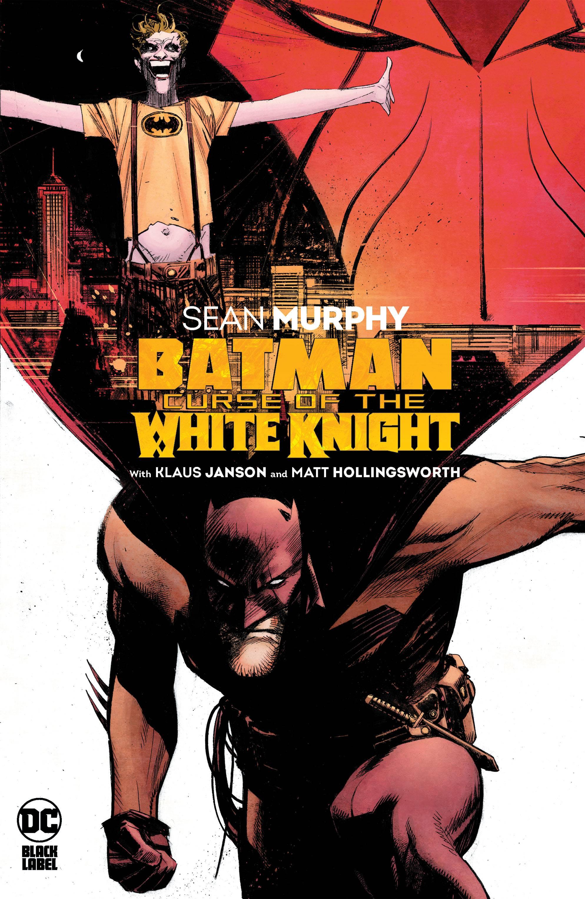 BATMAN CURSE OF THE WHITE KNIGHT HC