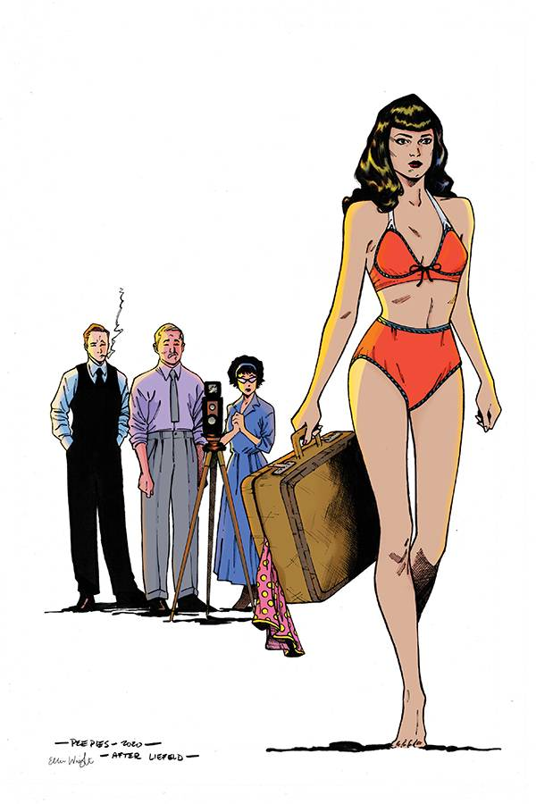 BETTIE PAGE #3 PEEPLES HOMAGE LTD VIRGIN CVR