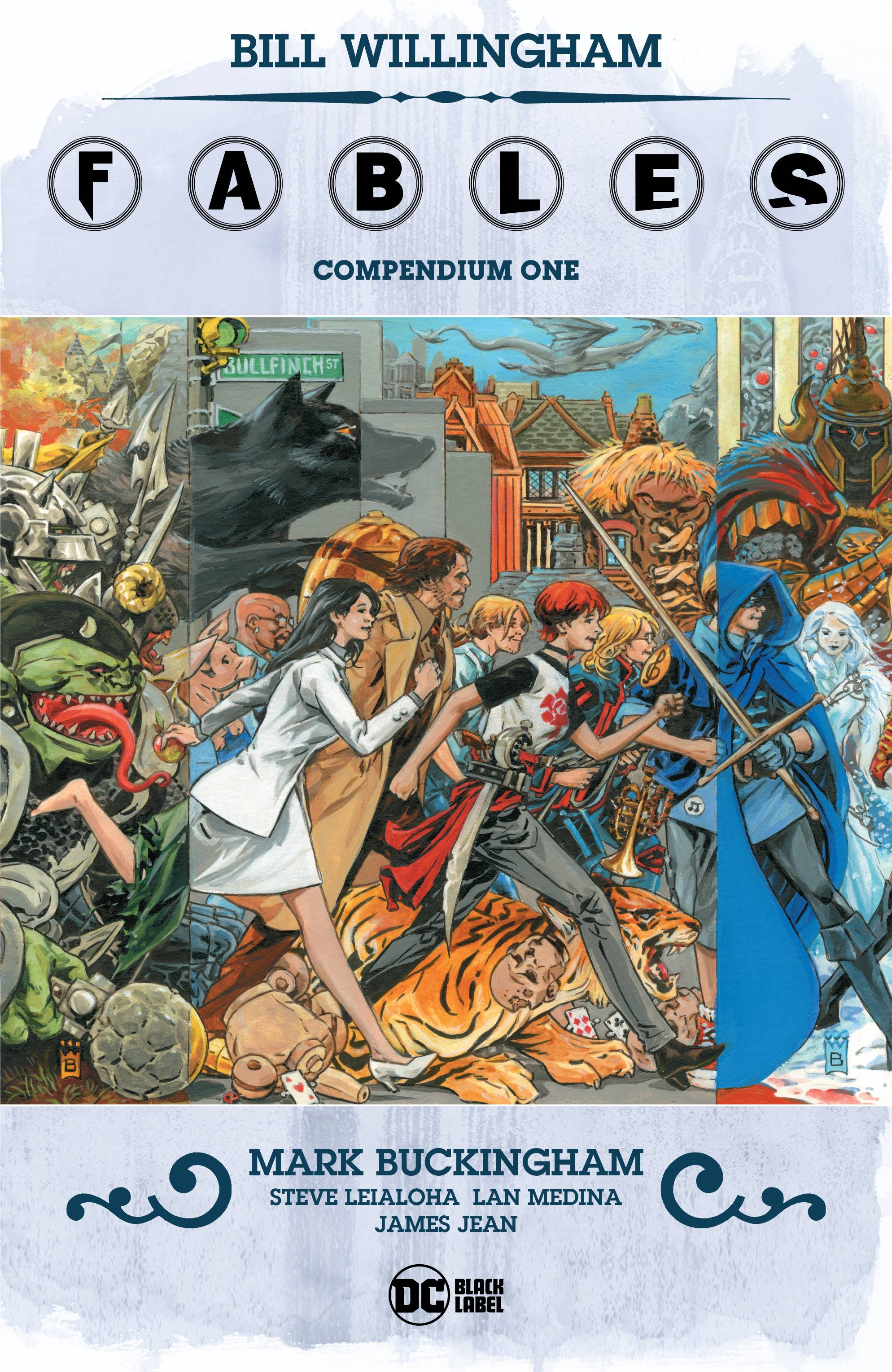 FABLES COMPENDIUM HC VOL 01 (MR)