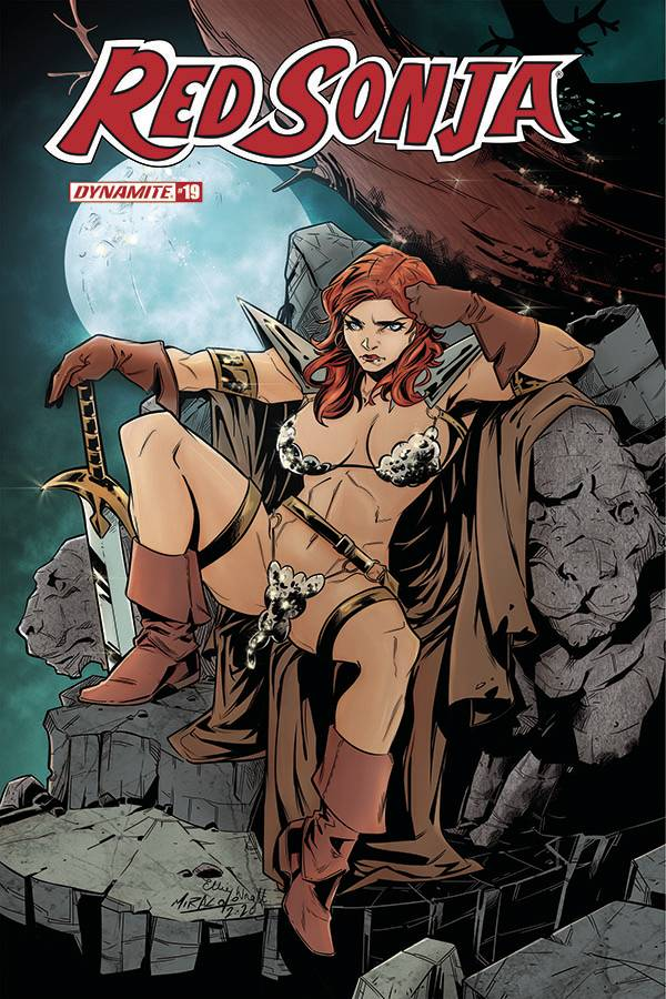 RED SONJA #19 CVR D MIRACOLO