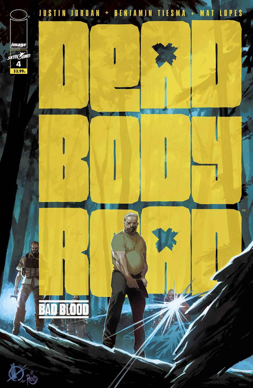 DEAD BODY ROAD BAD BLOOD #4 (OF 6) (MR)