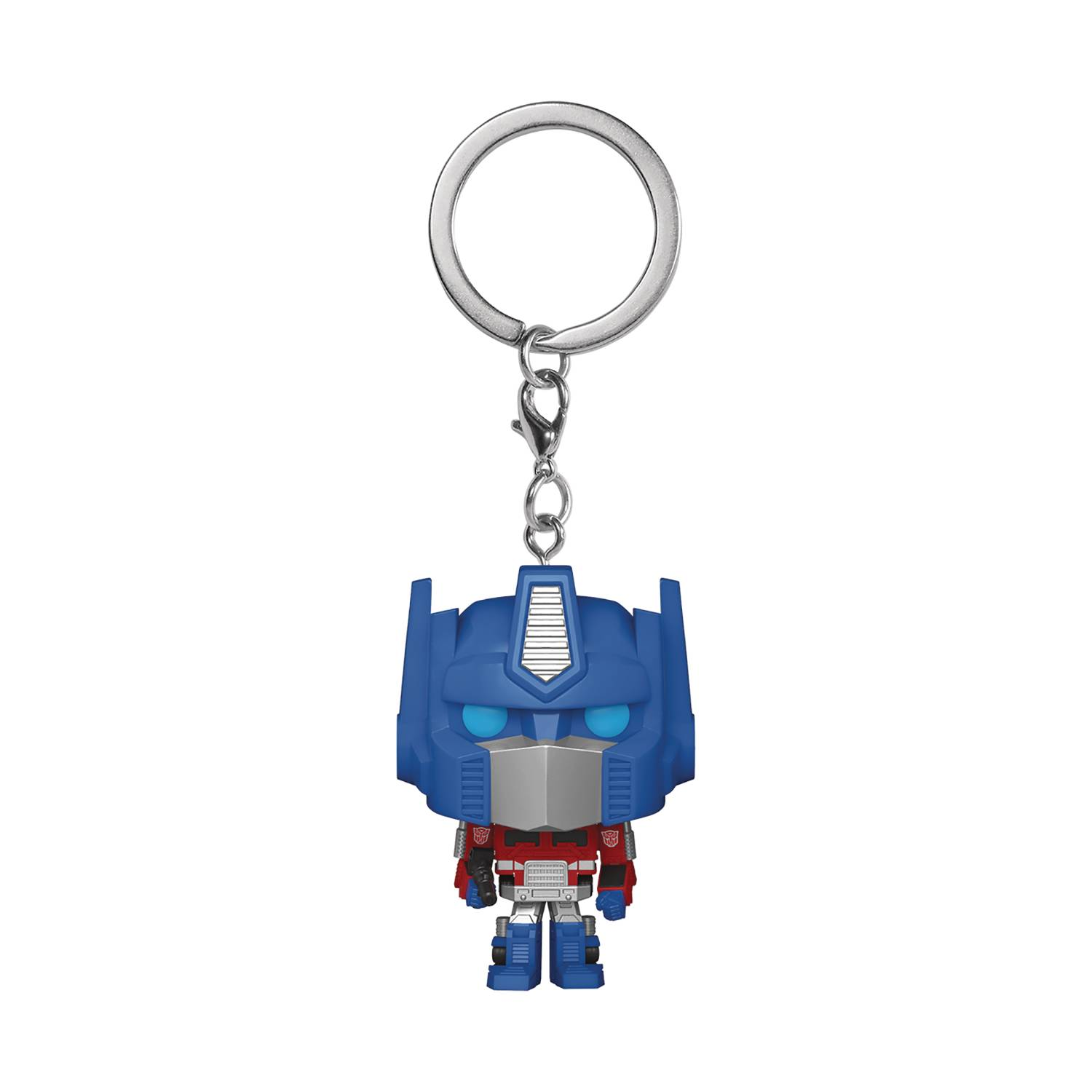 POCKET POP TRANSFORMERS OPTIMUS PRIME KEYCHAIN