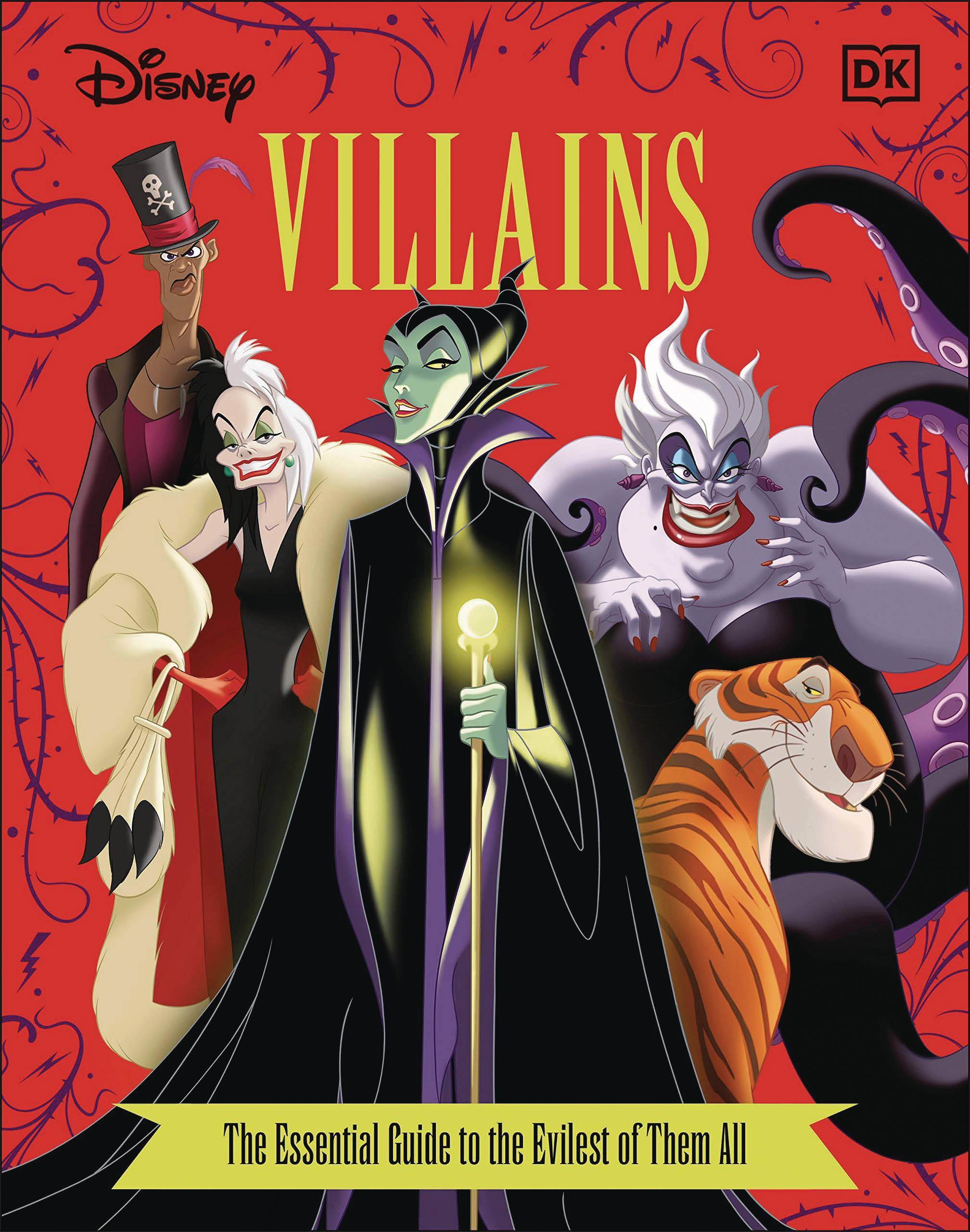 DISNEY VILLAINS ESSENTIAL GUIDE REVISED ED HC