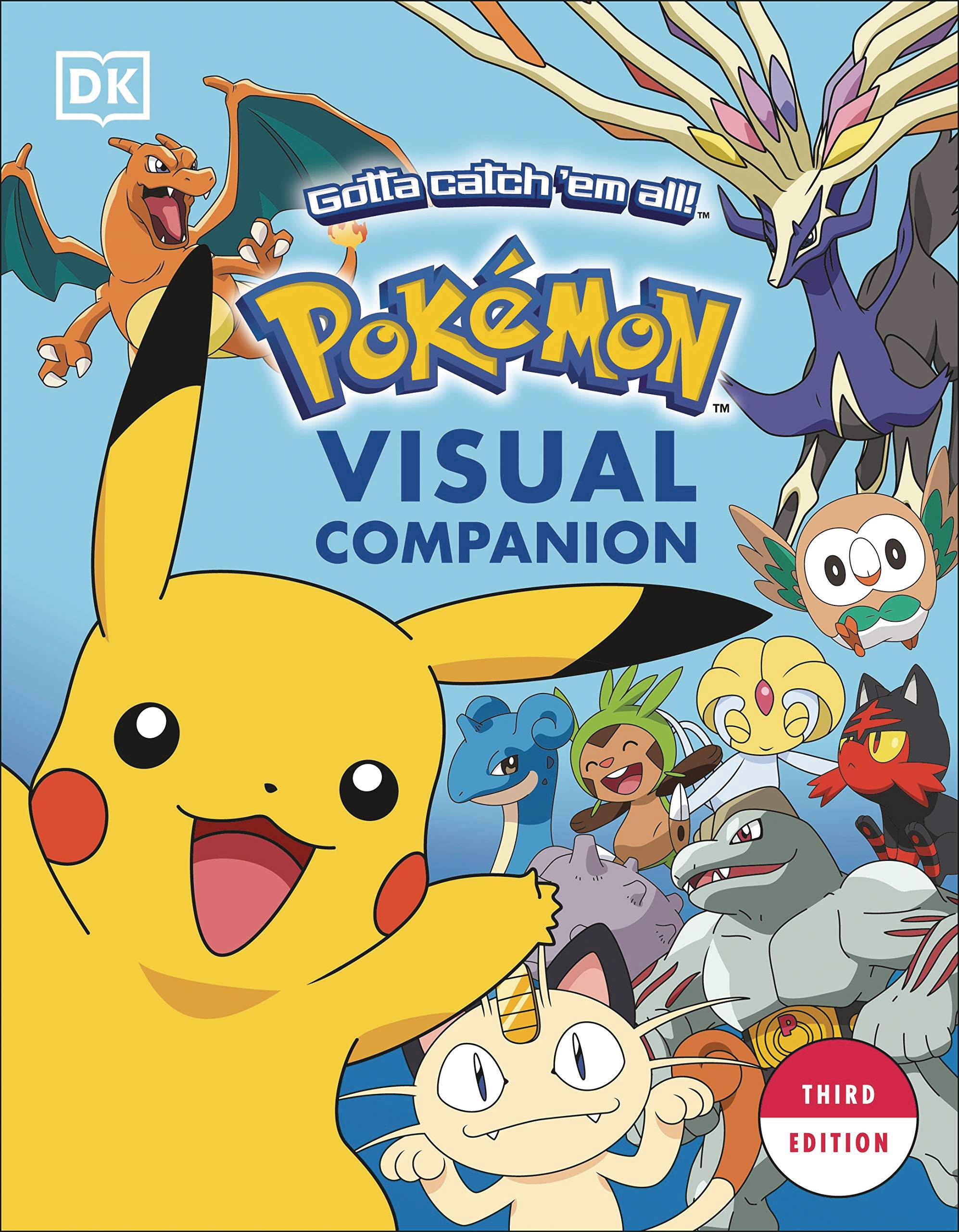 POKEMON VISUAL COMPANION 3RD ED