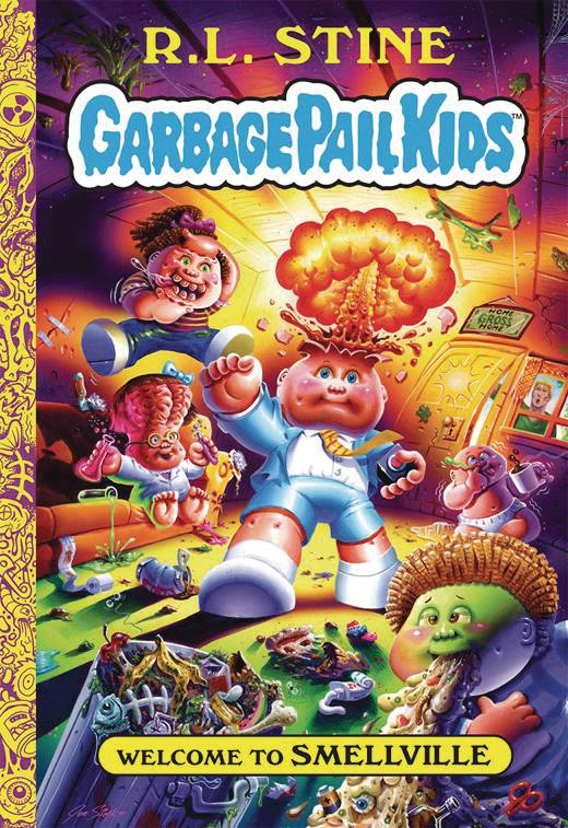 GARBAGE PAIL KIDS HC VOL 01 WELCOME TO SMELLVILLE