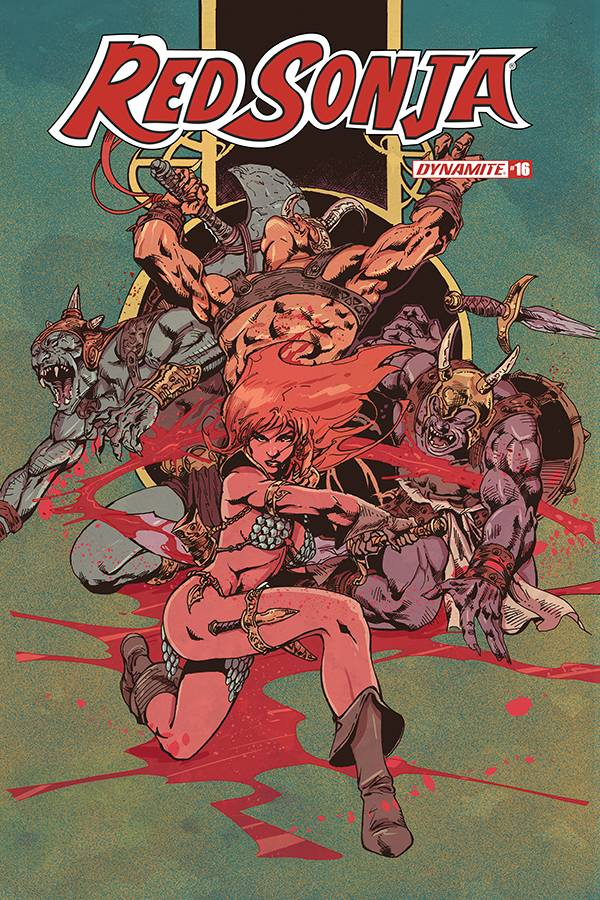 RED SONJA #16 CASTRO COLOR FOC BONUS VAR