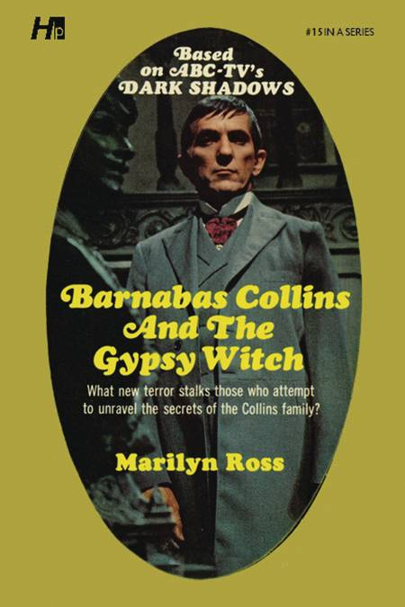 DARK SHADOWS PAPERBACK LIB NOVEL VOL 15 BARNABAS  & GYPSY WI