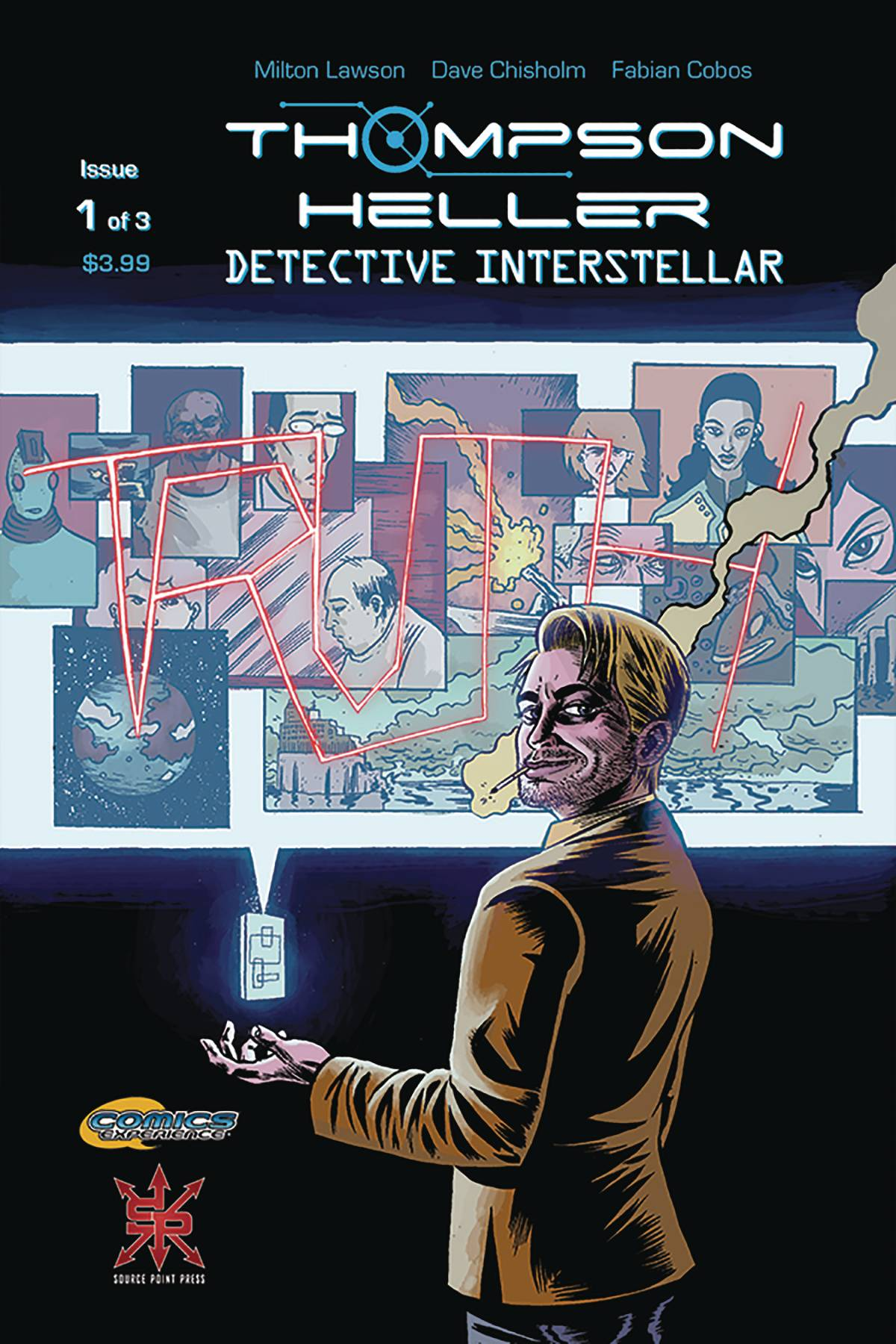 THOMPSON HELLER DETECTIVE INTERSTELLAR #1 (OF 3)