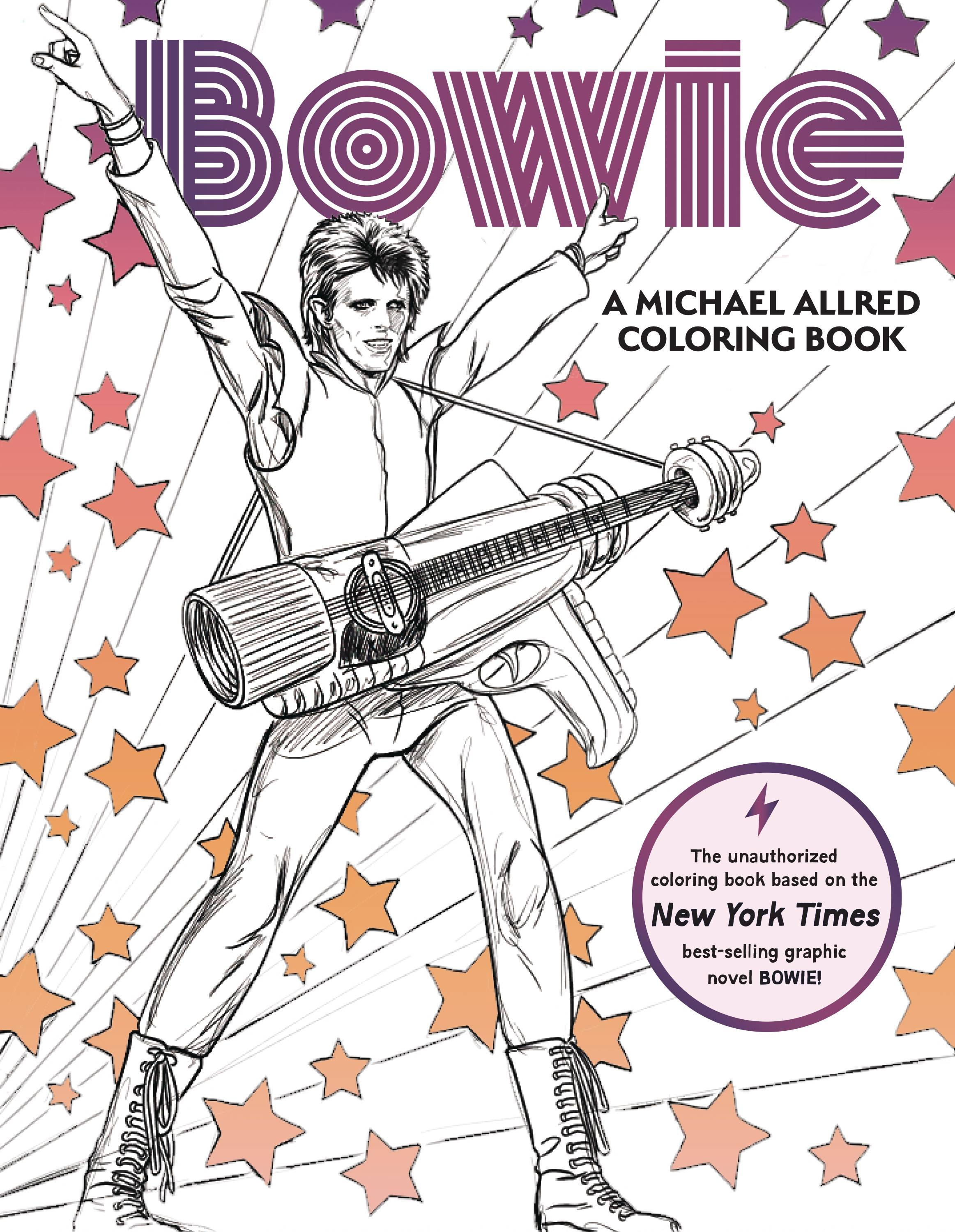 BOWIE ALLRED COLORING BOOK
