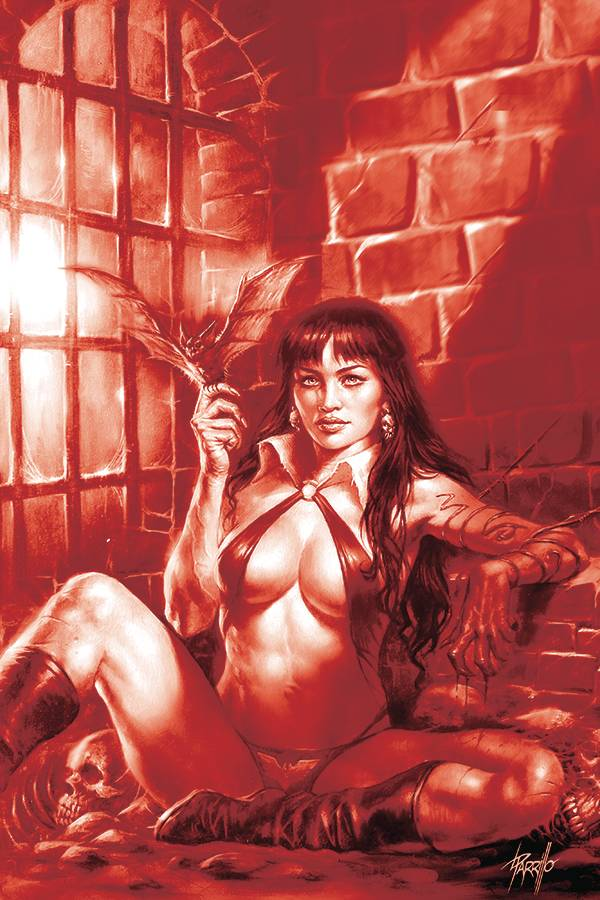 VAMPIRELLA #11 21 COPY PARRILLO TINT VIRGIN FOC INCV