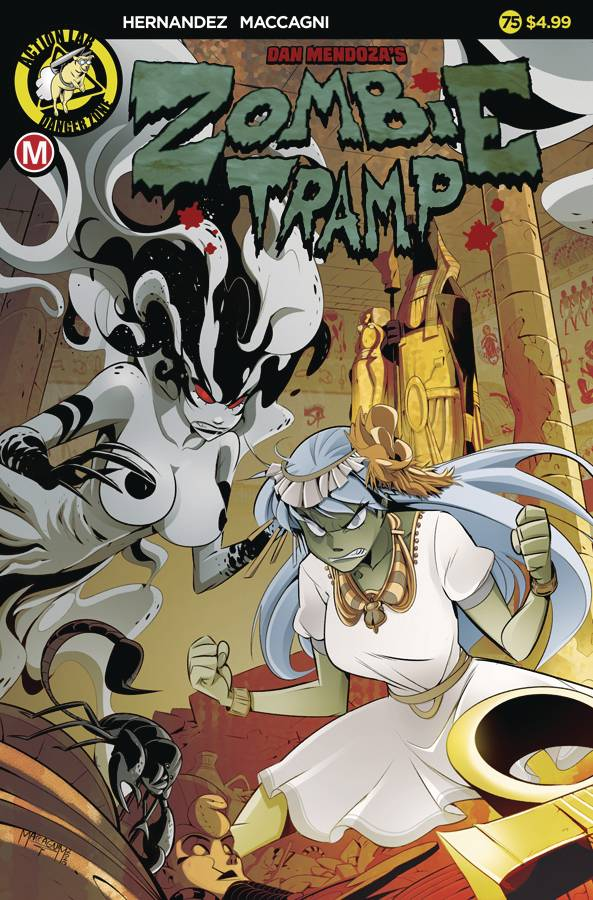 ZOMBIE TRAMP ONGOING #75 CVR A MACCAGNI (MR)