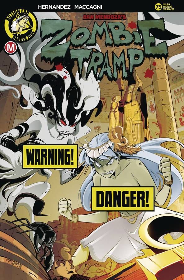 ZOMBIE TRAMP ONGOING #75 CVR B MACCAGNI RISQUE (MR)