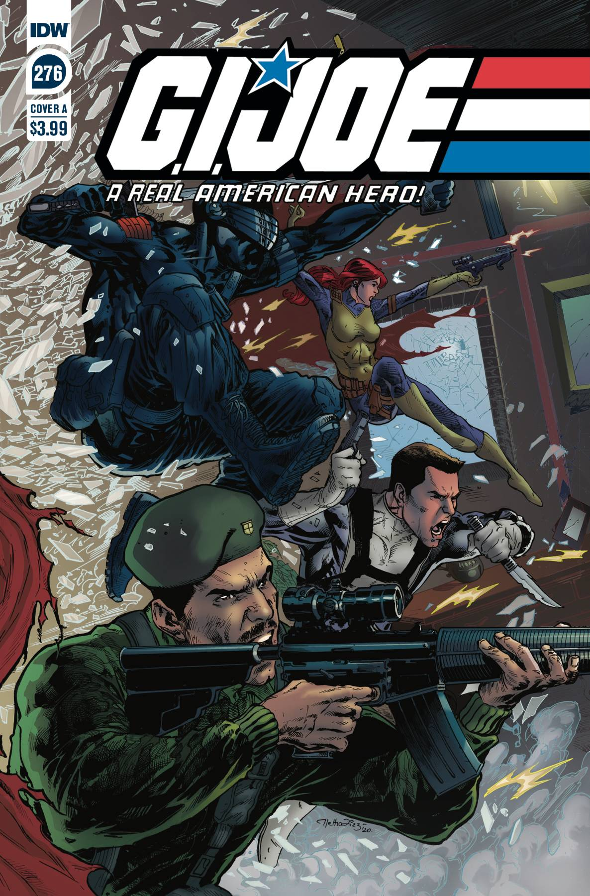 GI JOE A REAL AMERICAN HERO #276 CVR A DIAZ
