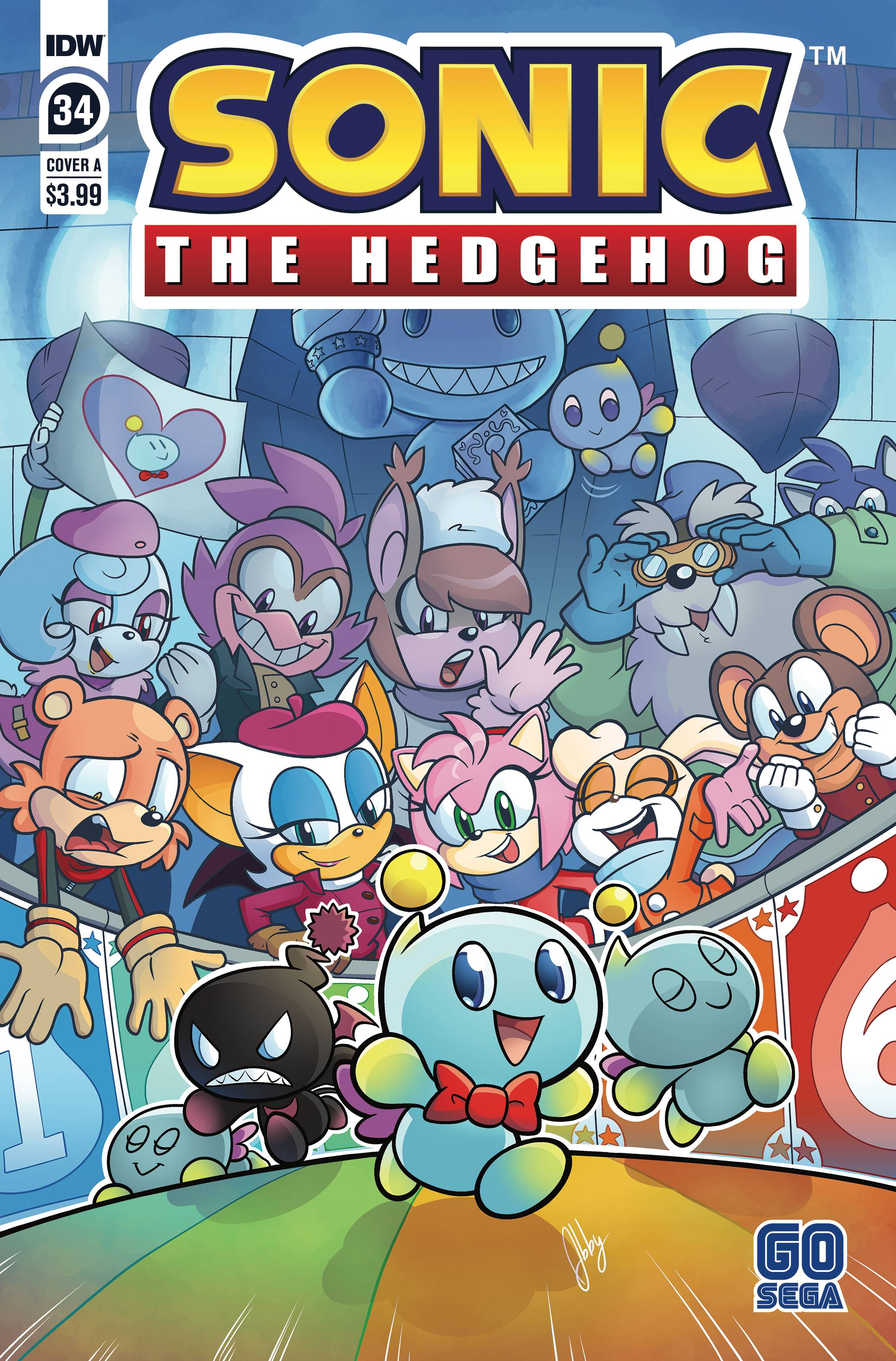 SONIC THE HEDGEHOG #34 CVR A BULMER